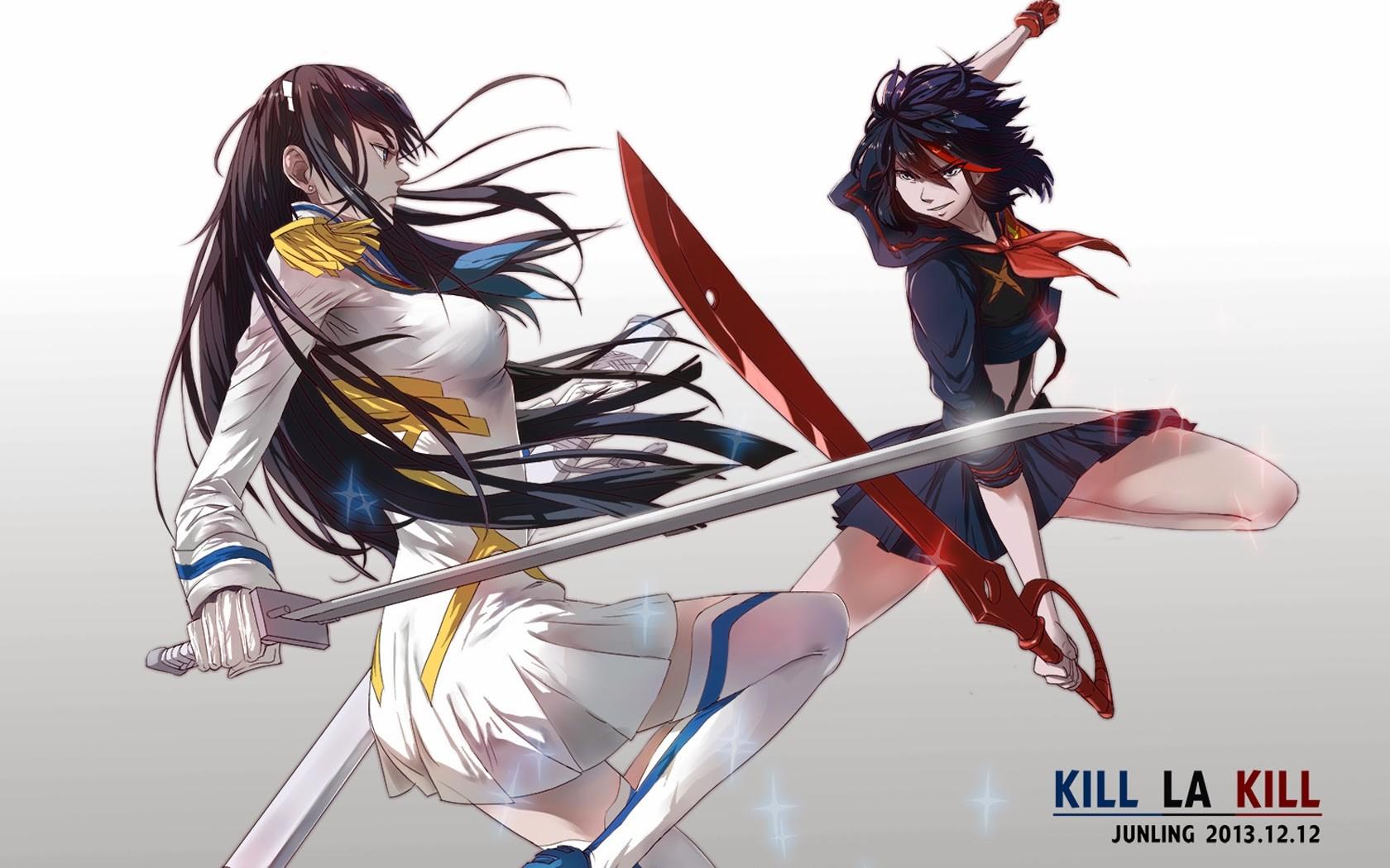 Wallpaper Illustration Anime Kill La Kill Matoi Ryuuko
