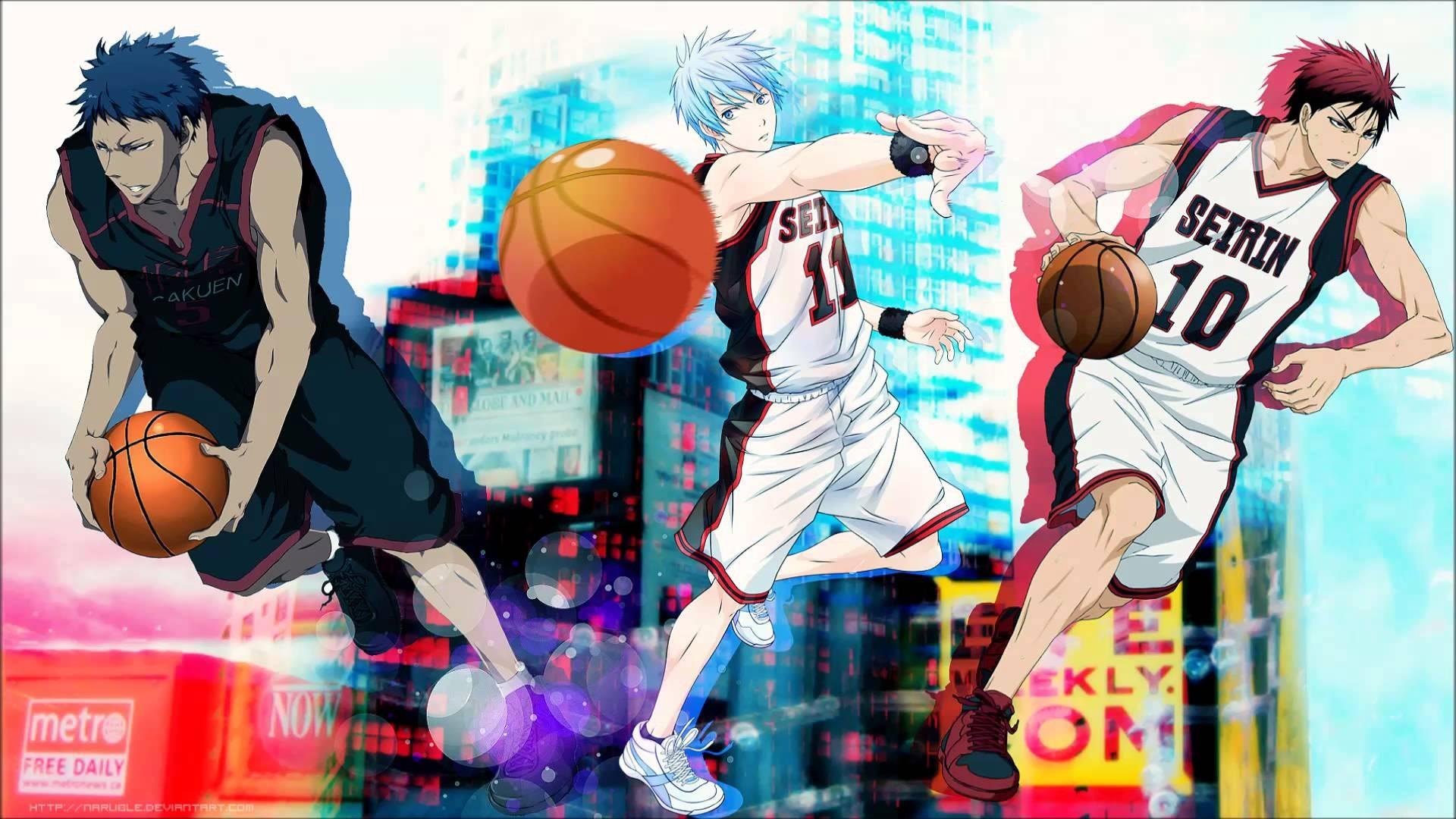 Illustration Anime Kuroko No Basket 1920x1080 Px