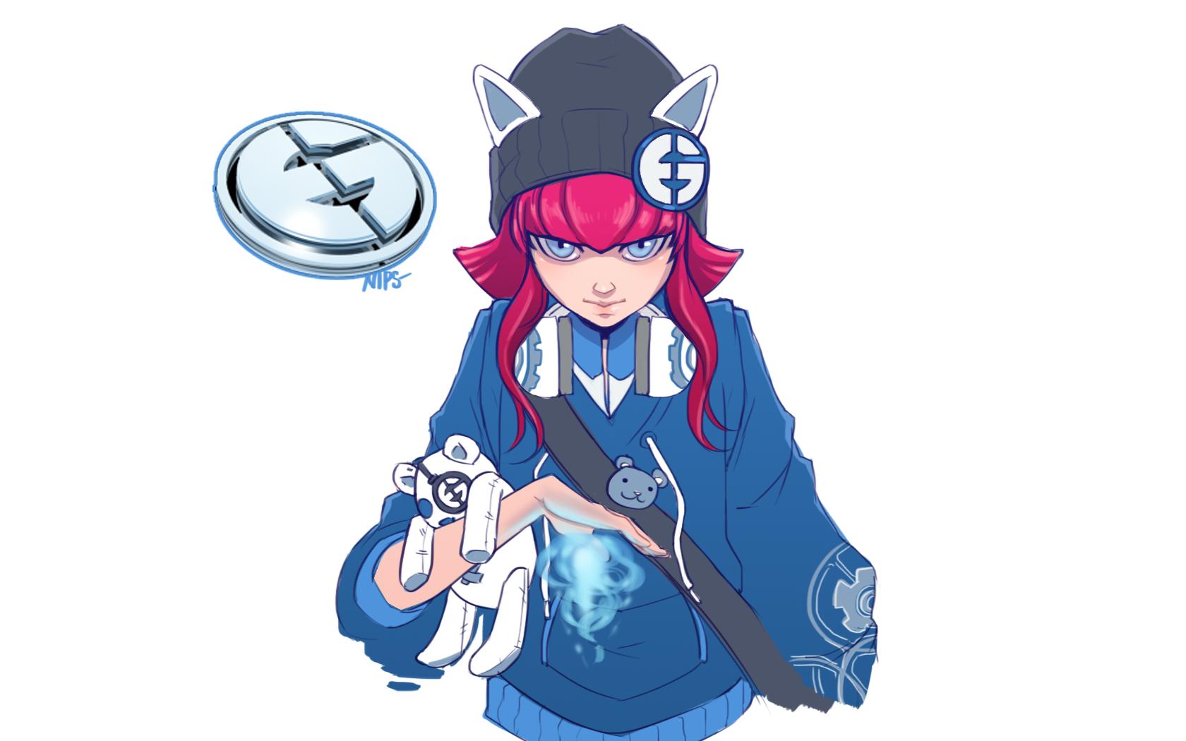 Wallpaper Illustration Anime League Of Legends Cartoon Annie