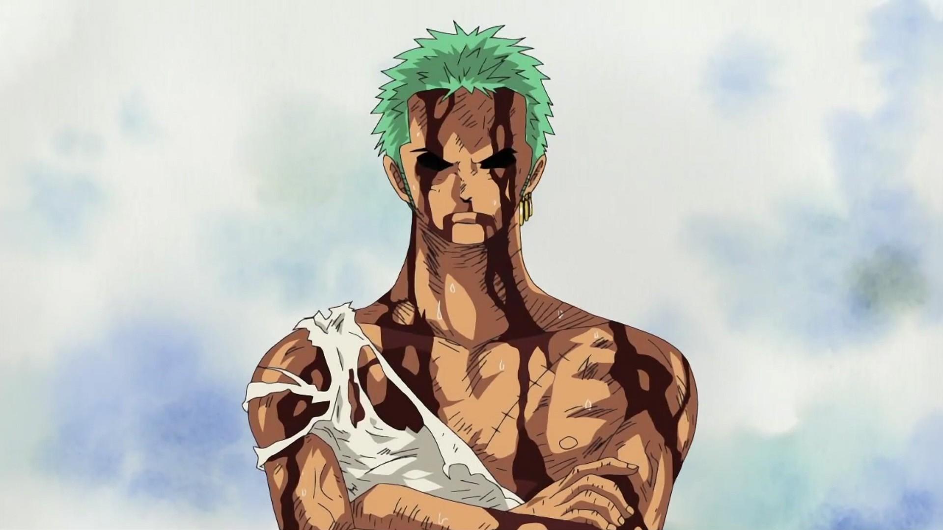 Illustration Anime One Piece Roronoa Zoro Screenshot 1920x1080 Px