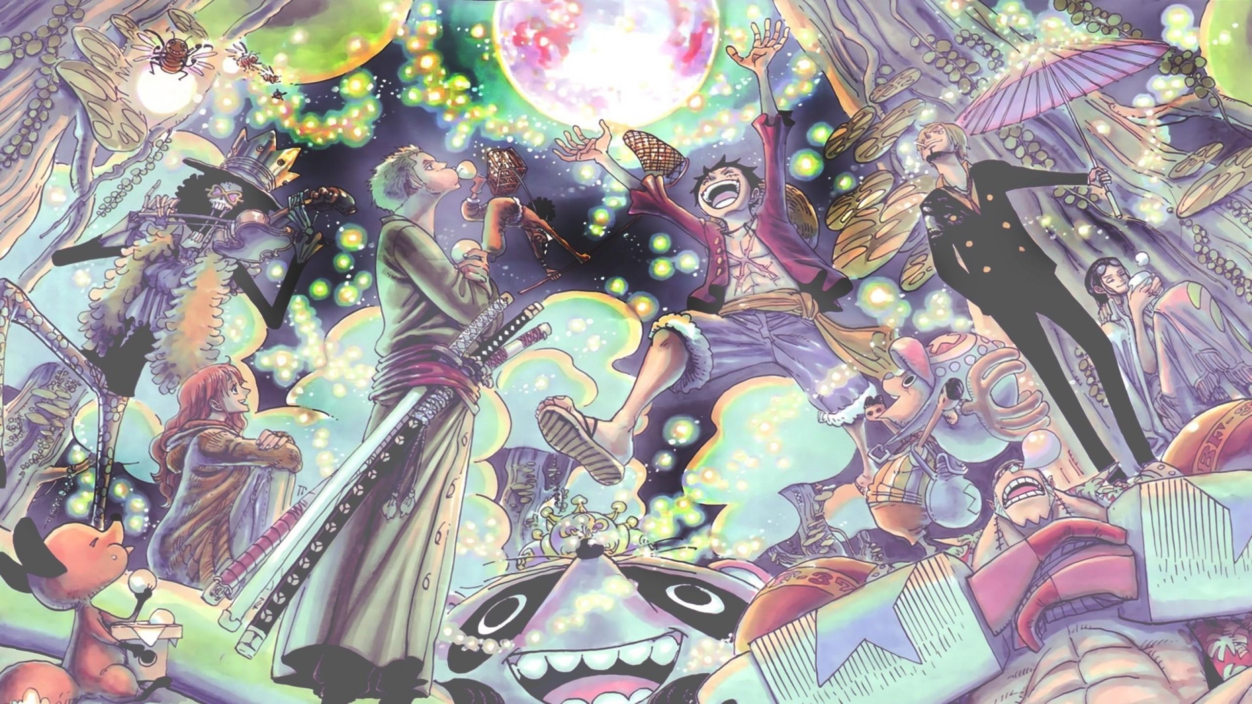 Illustration Anime One Piece Sanji Monkey D Luffy Comics Roronoa Zoro Nami Games Screenshot Comic Book