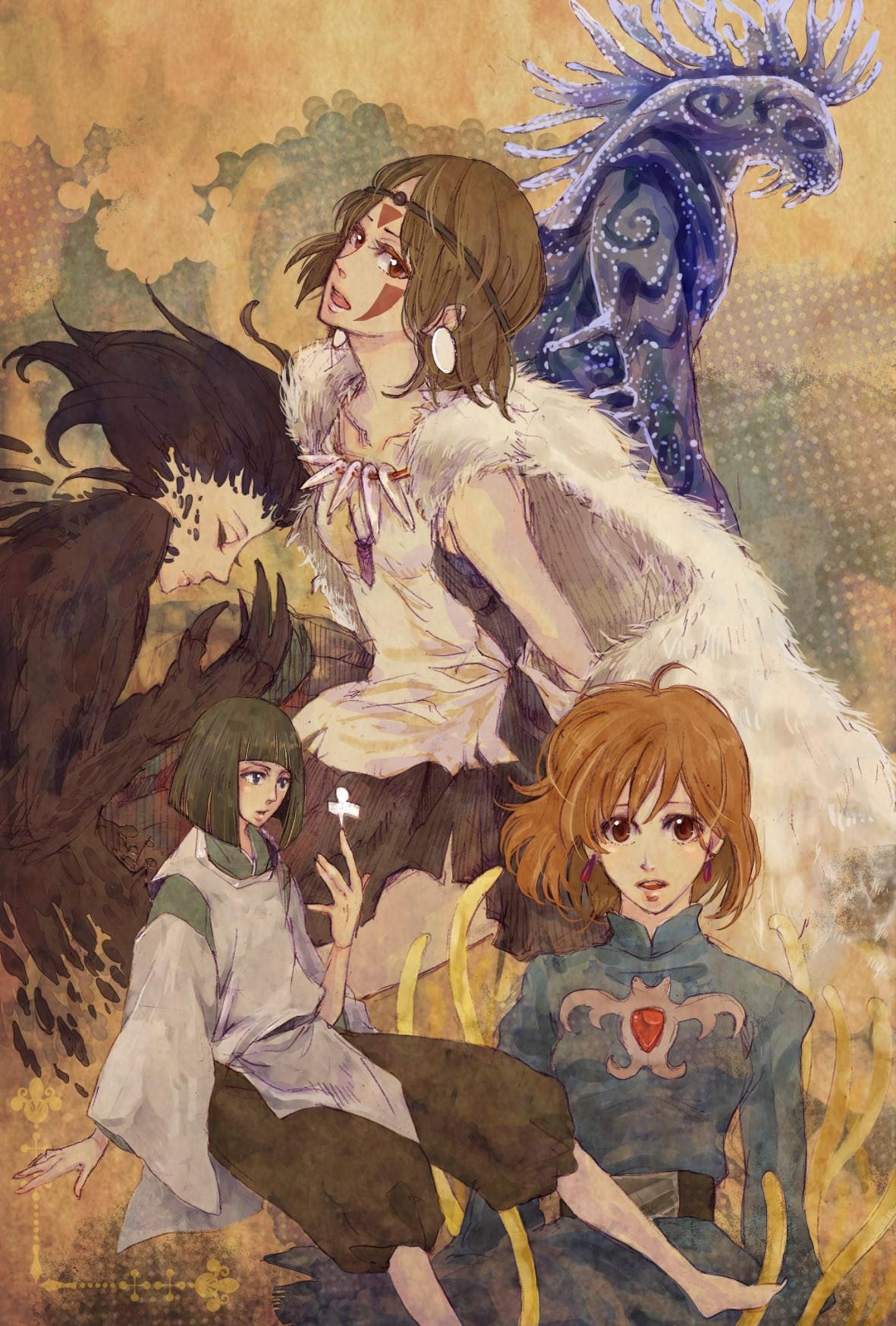 Nausicaa of the Valley of the Wind - Studio Ghibli ... |Nausicaa Studio Ghibli Wallpaper