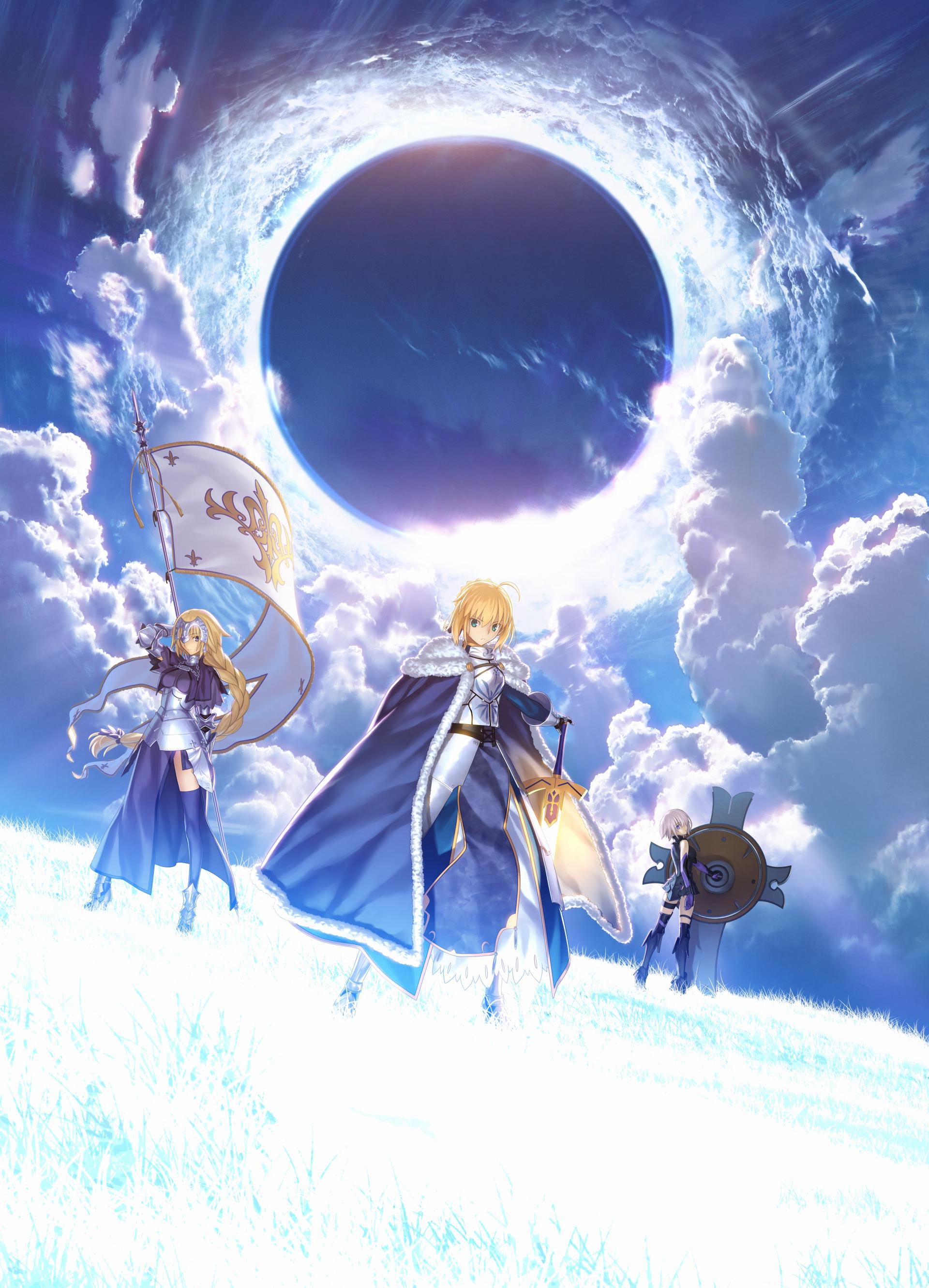 Wallpaper : illustration, anime, Saber, Fate Grand Order