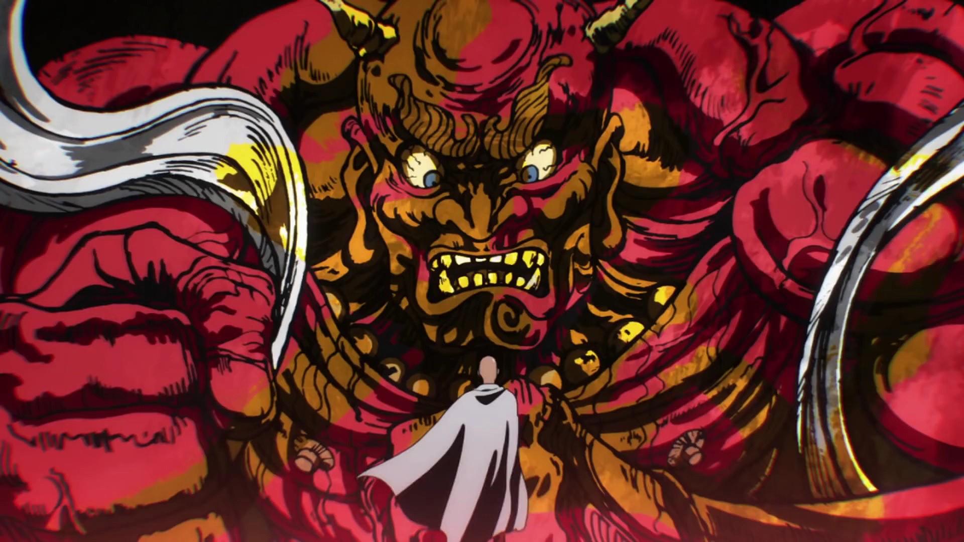 Wallpaper Illustration Anime Saitama One Punch Man