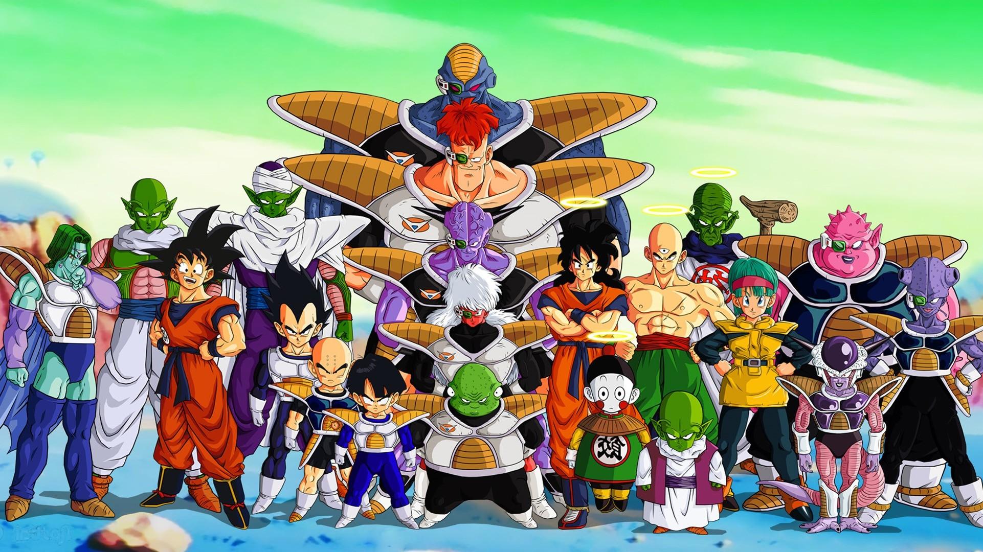Wallpaper Illustration Anime Toy Gohan Dragon Ball Z Bulma