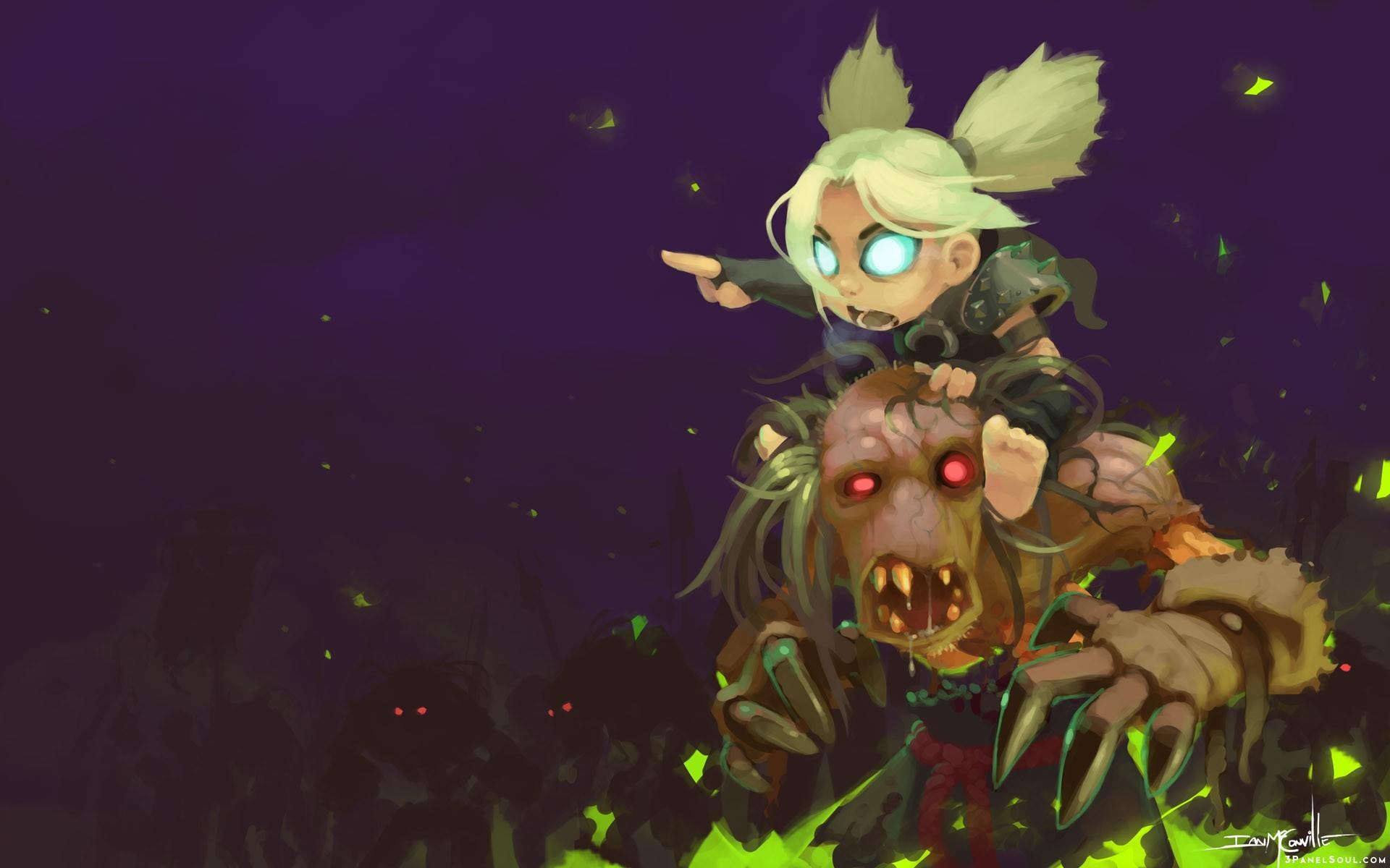 Wallpaper Illustration Anime World Of Warcraft Zombies
