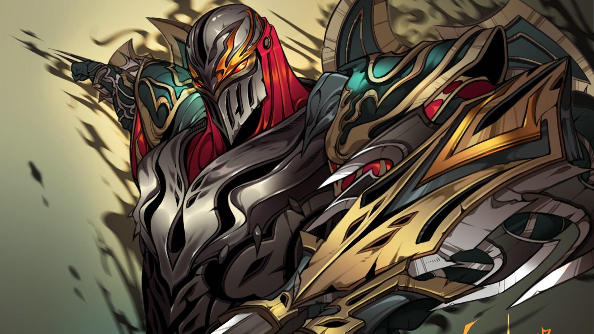Zed League Of Legends 1920x1080 Px