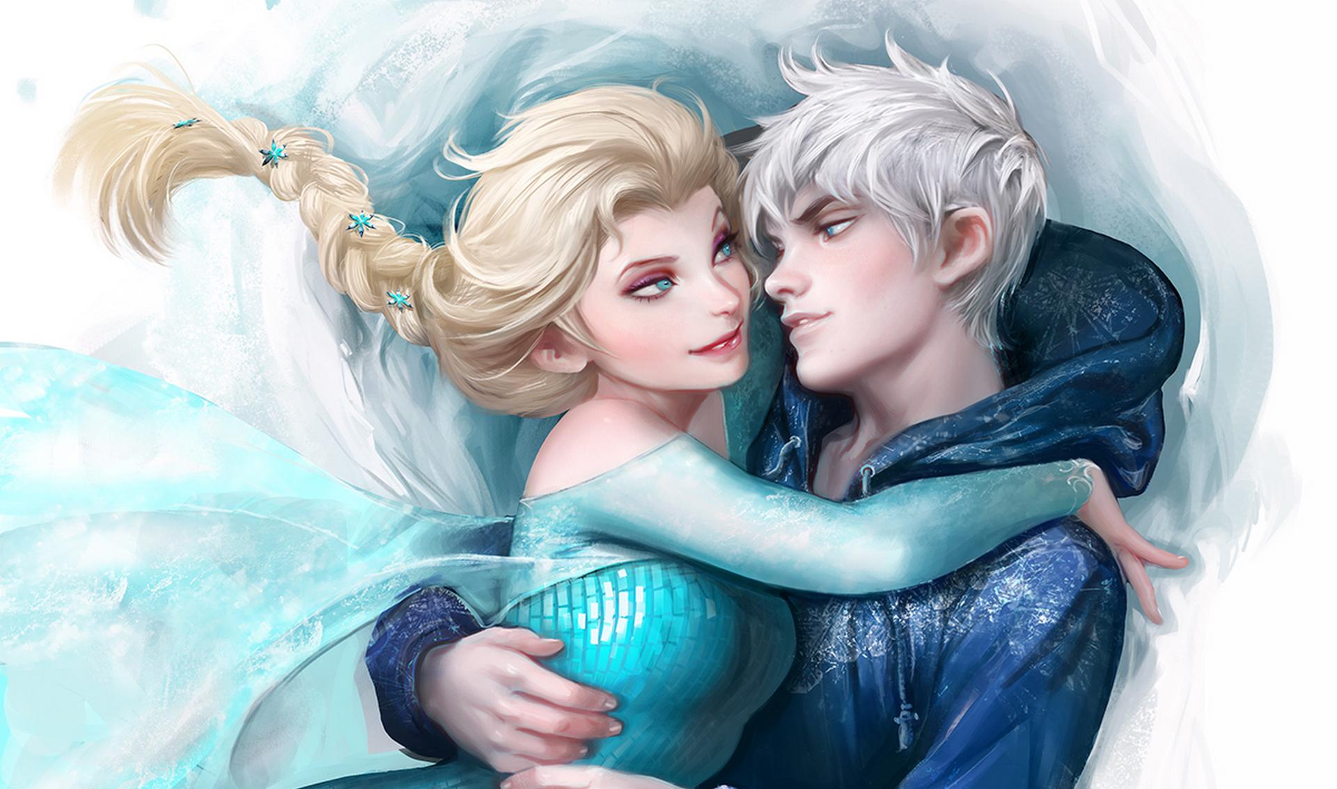 Wallpaper  Illustration, Anime, Angel, Elsa, Rise Of The -5832