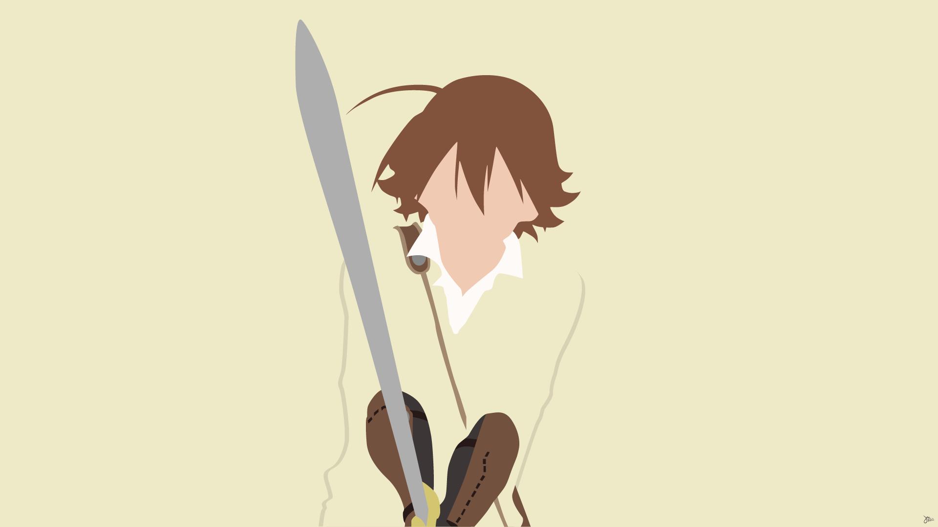 Wallpaper Illustration Anime Boys Cartoon Sword Akame Ga
