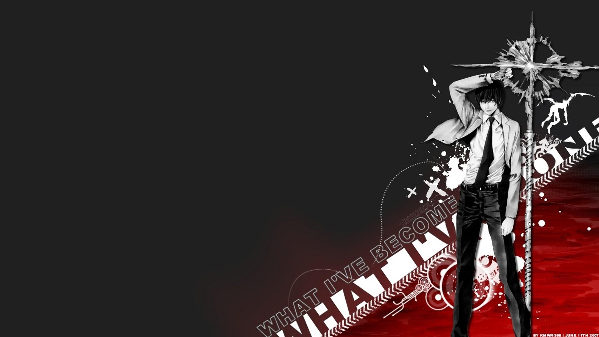 デスクトップ壁紙 図 アニメ少年 ギター デスノート ギタリスト