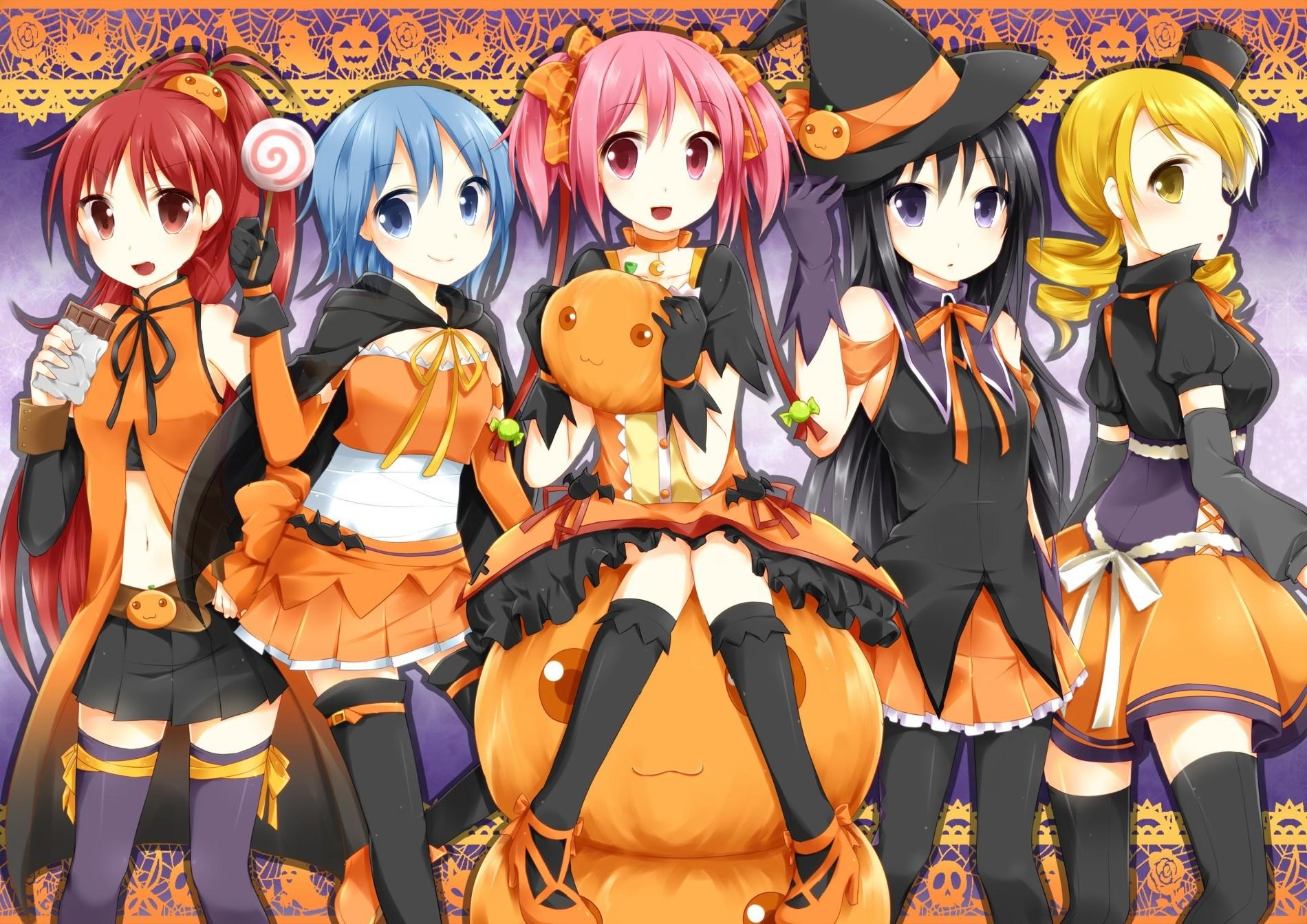 Sfondi illustrazione anime girls mahou shoujo madoka