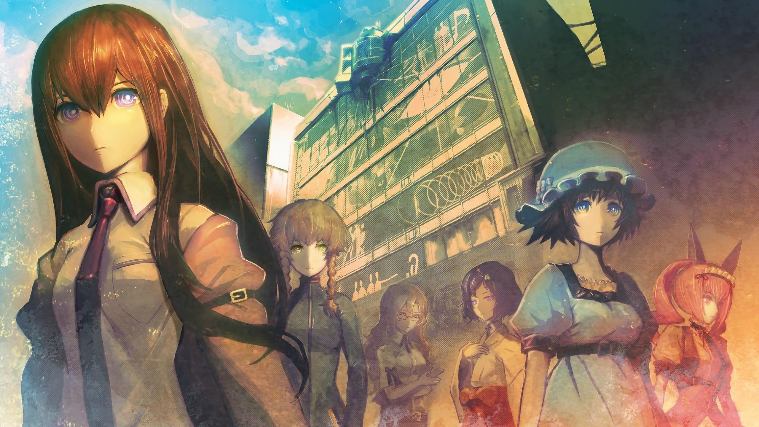 Wallpaper Illustration Anime Girls Makise Kurisu Steins