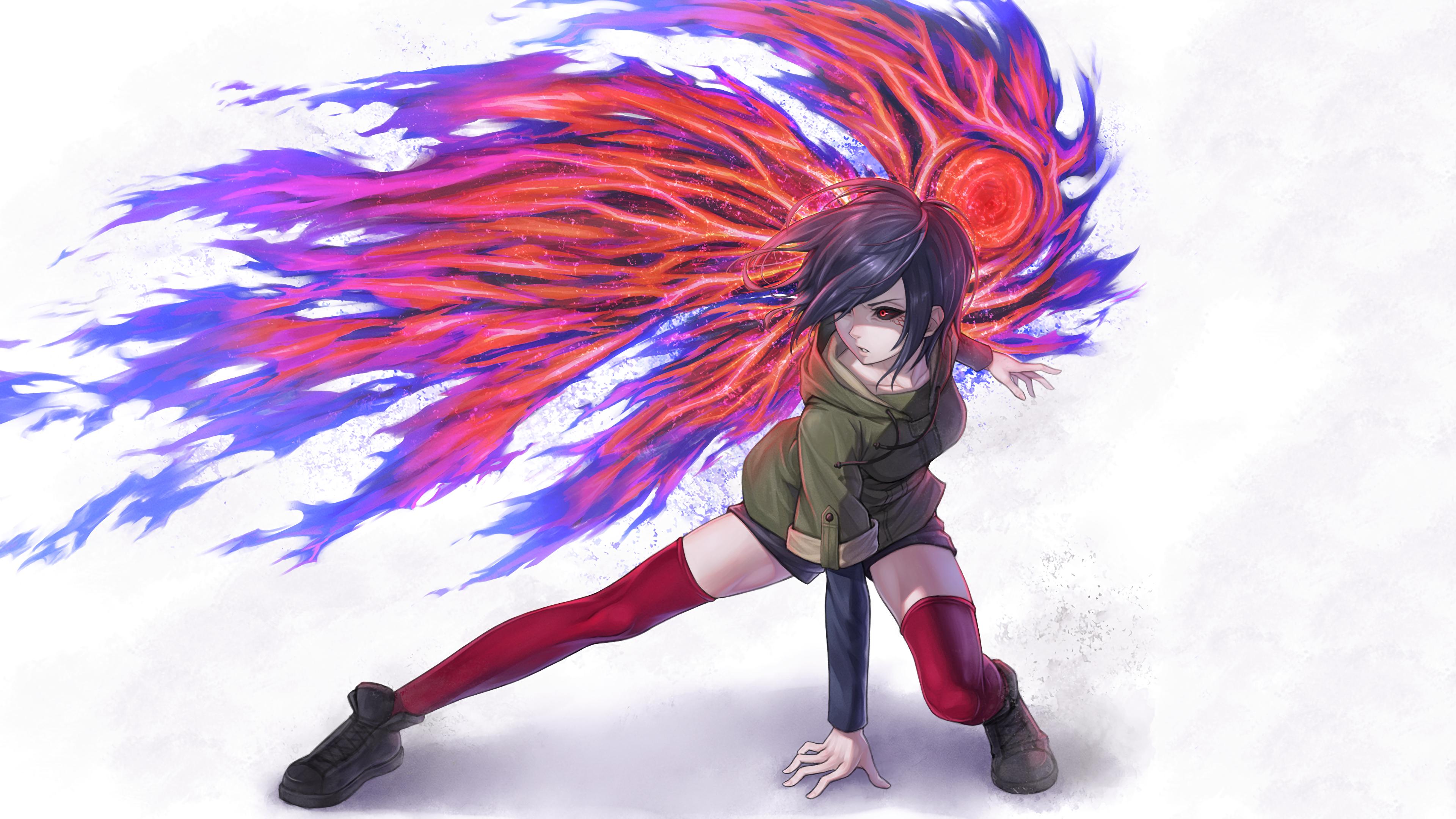 Fondos De Pantalla Ilustración Anime Chicas Anime Ghoul