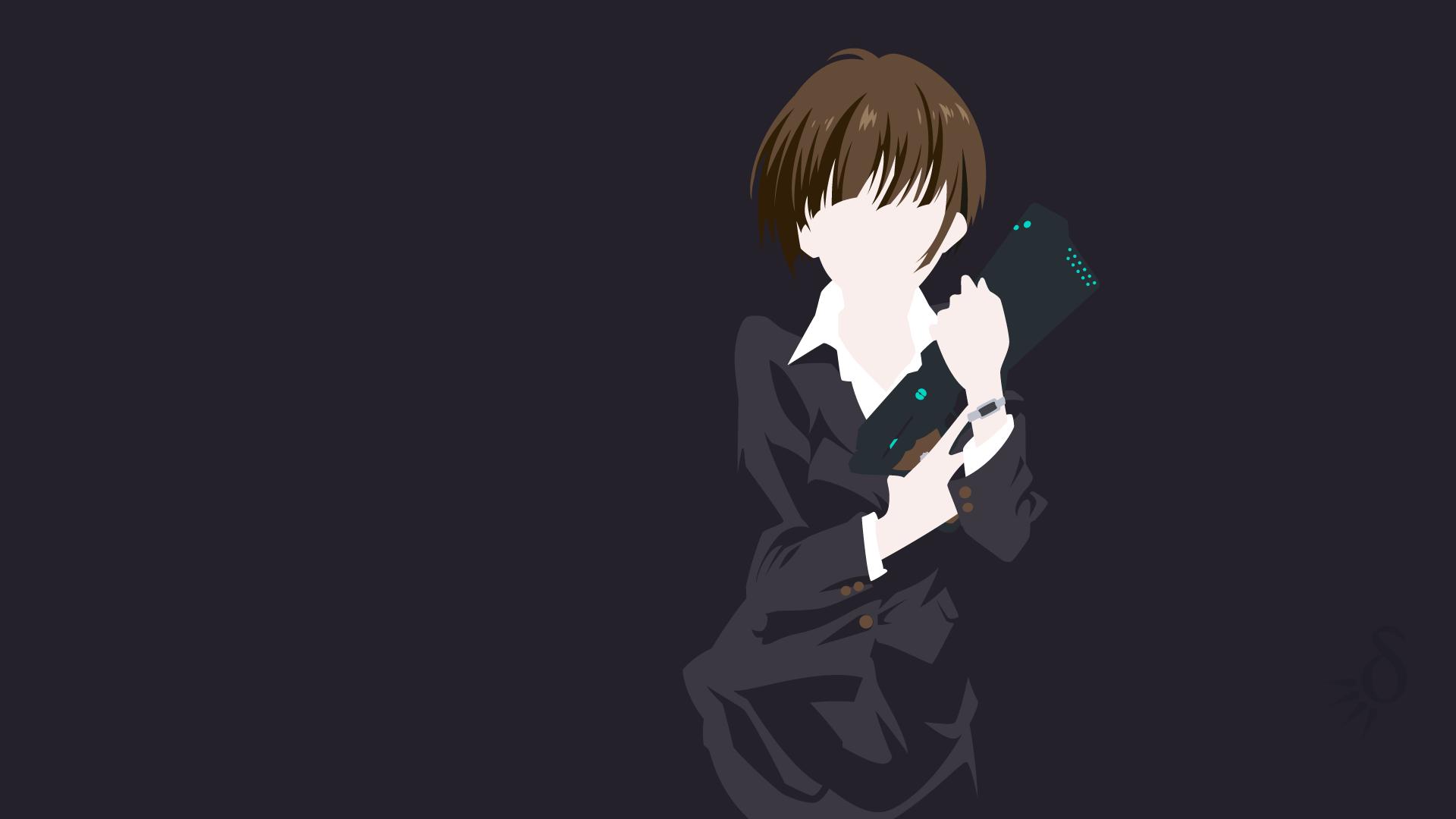 デスクトップ壁紙 図 アニメの女の子 つね絵茜 サイコパス