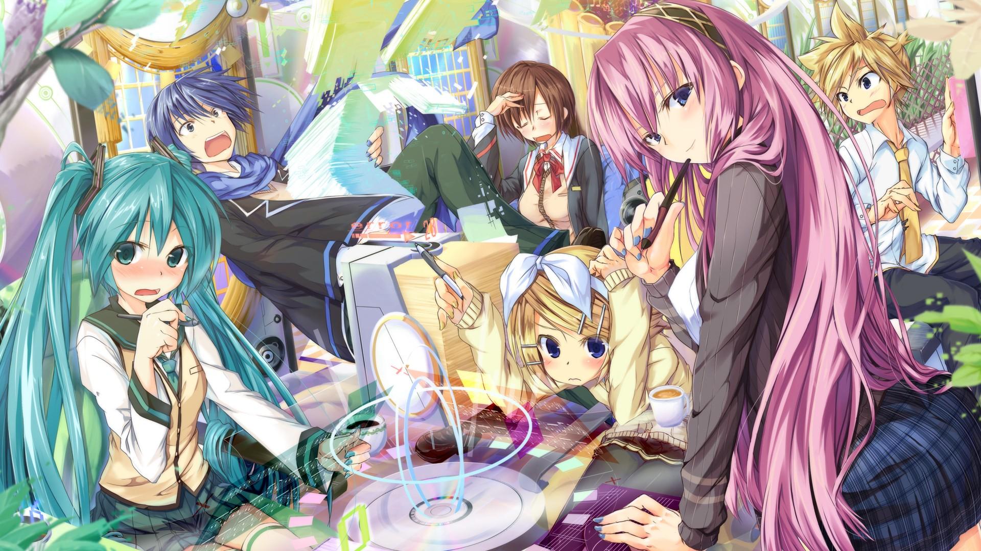 Papel de parede ilustra o Anime