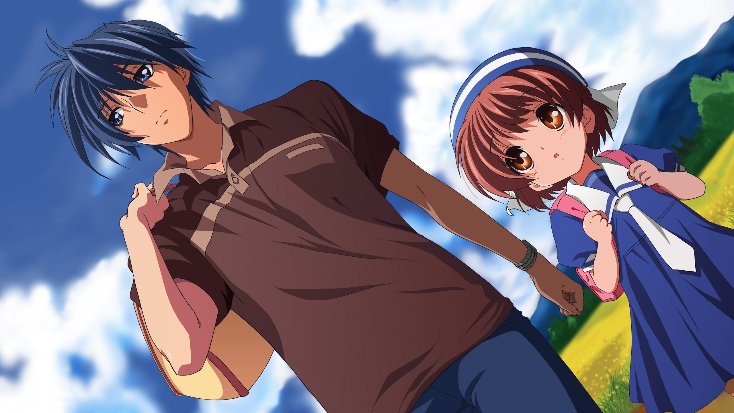 Wallpaper Illustration Anime Girls Anime Boys Cartoon