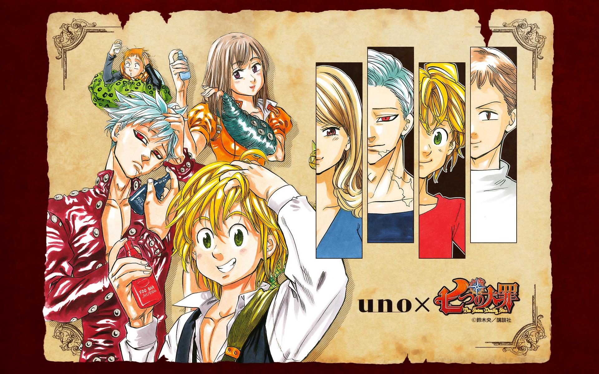 Wallpaper Illustration Anime Girls Anime Boys Collage