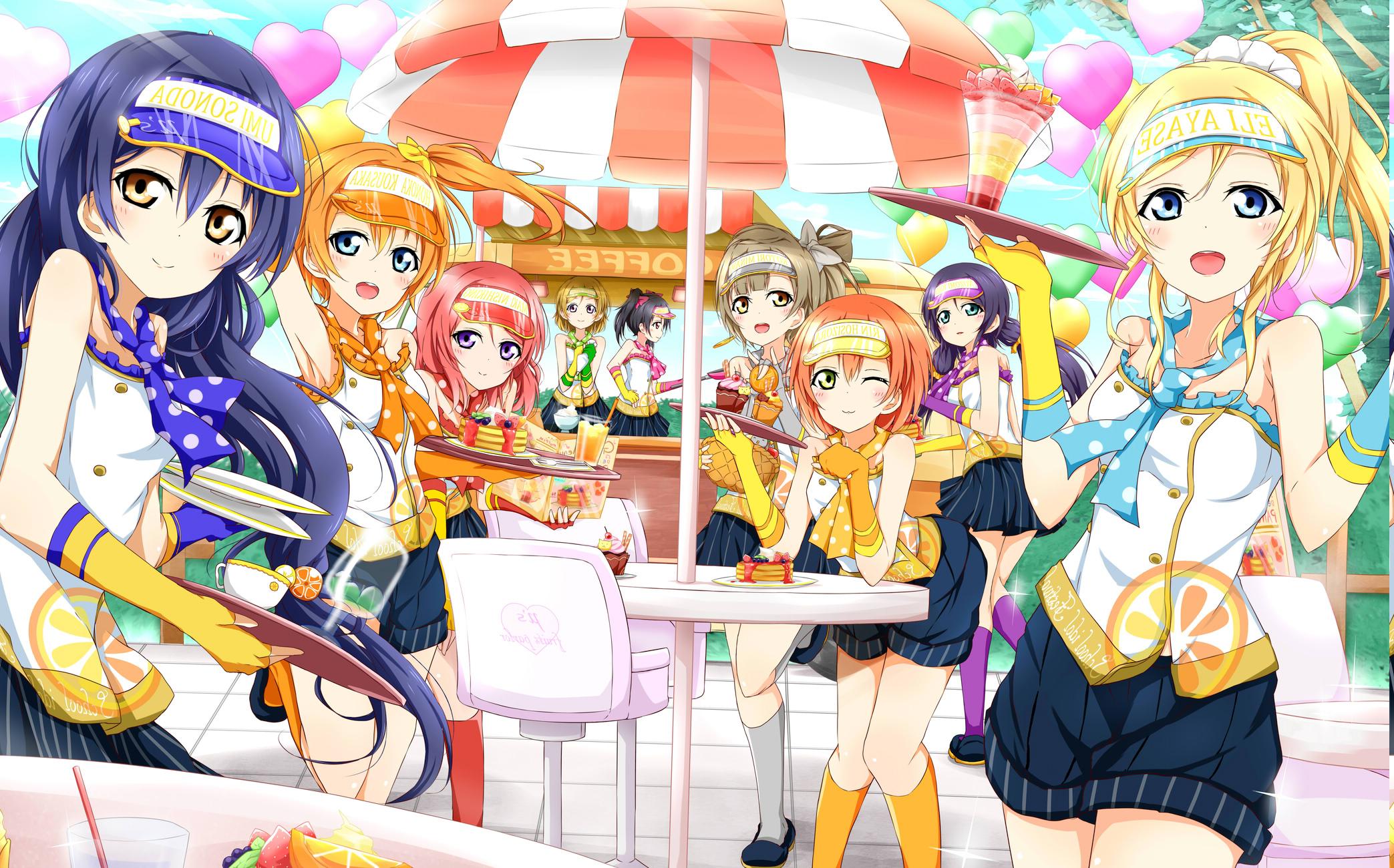 Wallpaper Illustration Anime Girls Artwork Love Live Cartoon