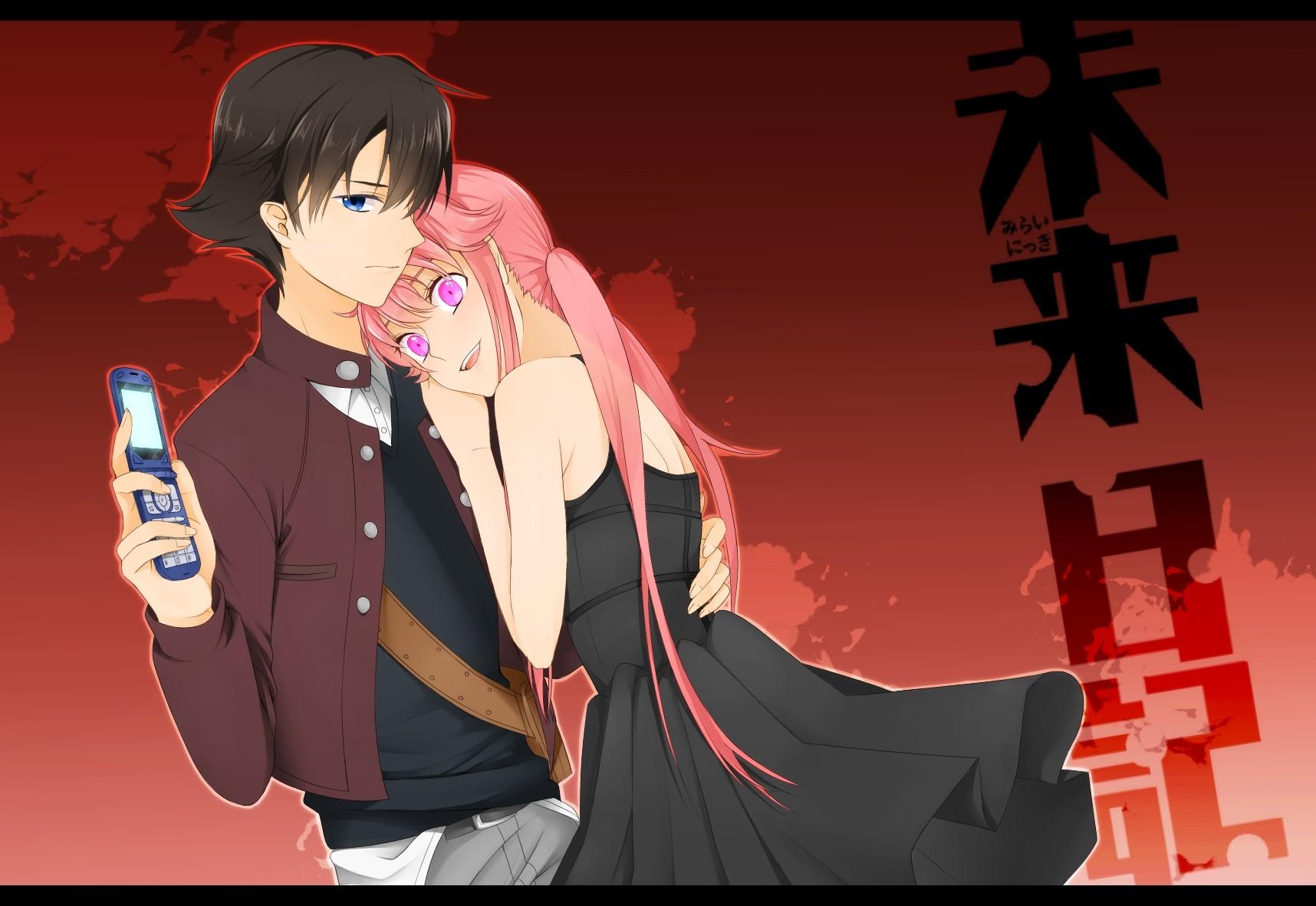Fond Décran Illustration Anime Filles Anime Yeux Bleus