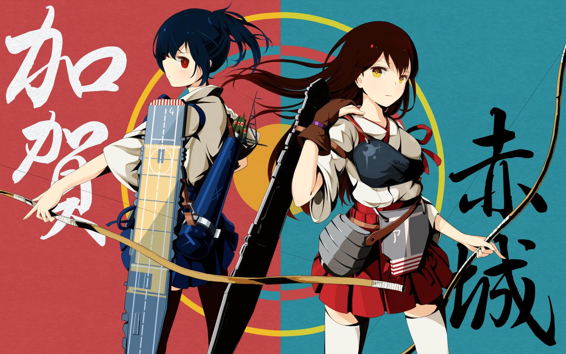 wallpaper illustration anime girls cartoon kantai