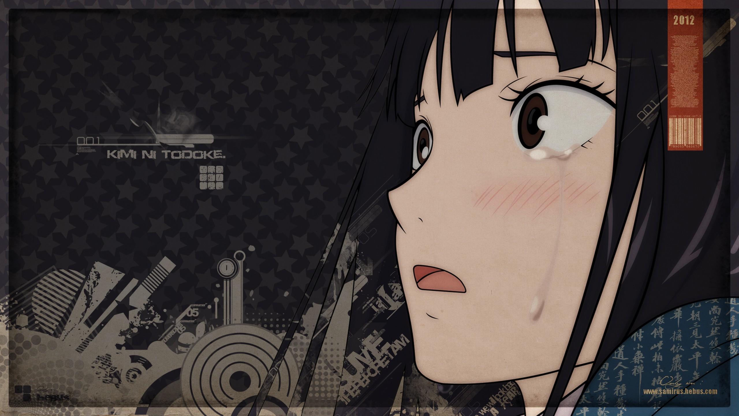 Wallpaper Illustration Anime Girls Cartoon Kimi Ni
