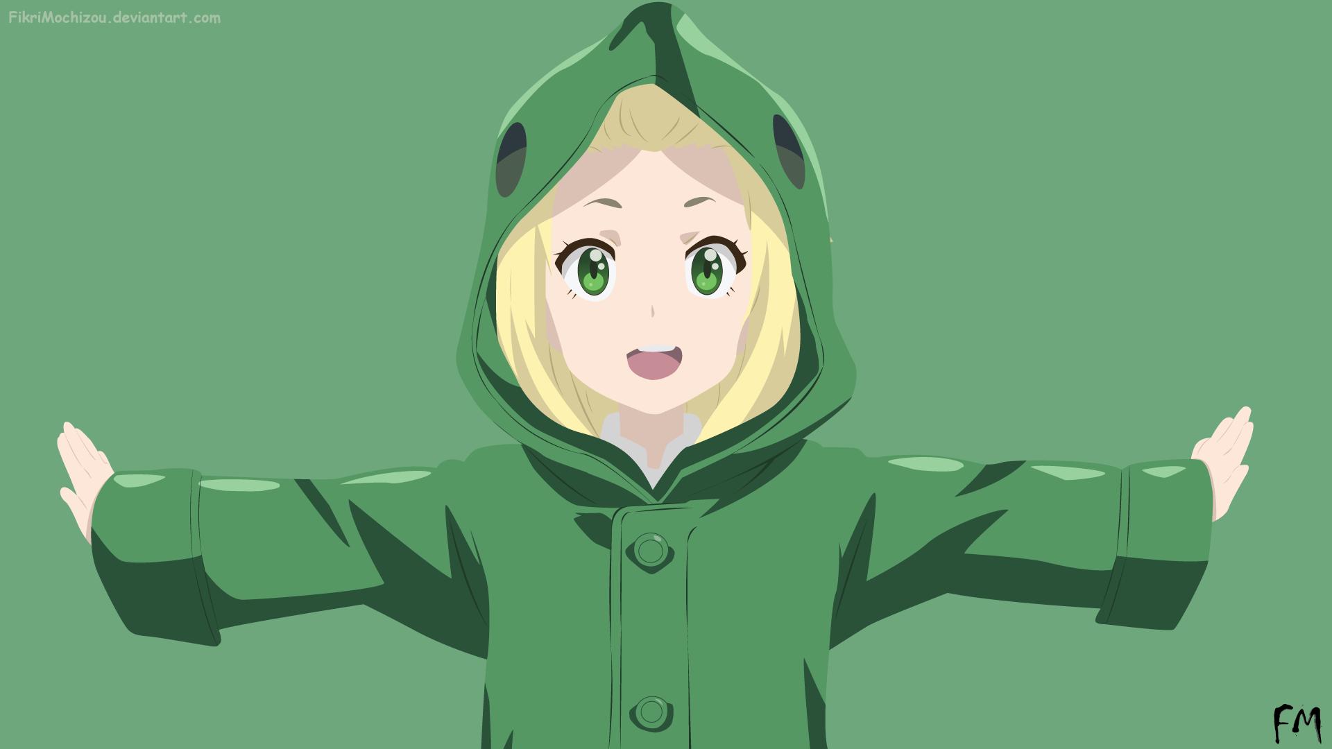 Wallpaper Ilustrasi Gadis Anime Gambar Kartun Kono Bijutsubu Ni