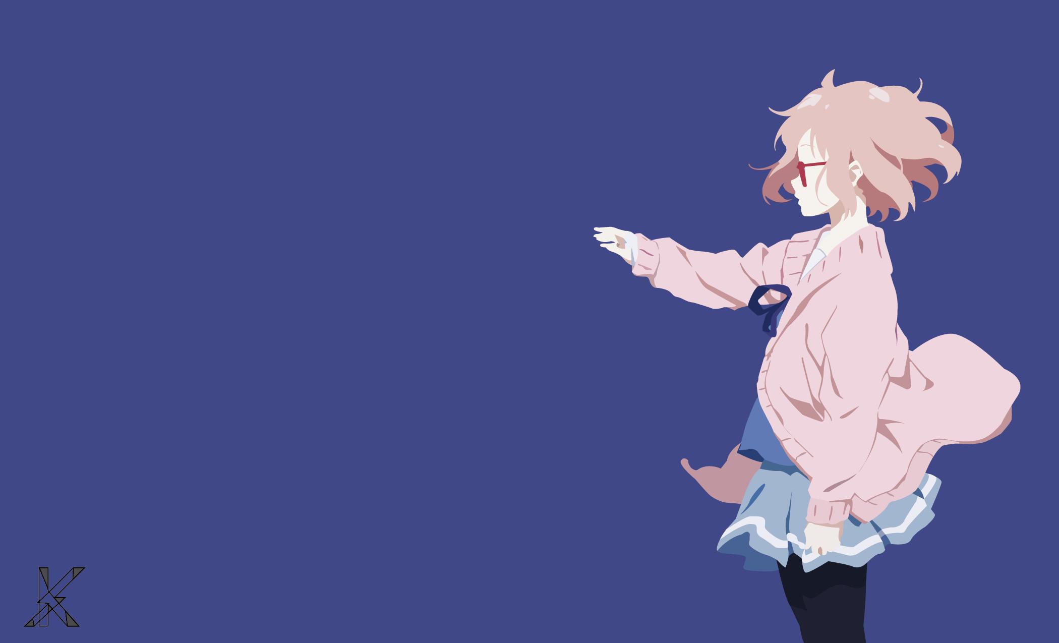 Wallpaper Illustration Anime Girls Cartoon Kyoukai No