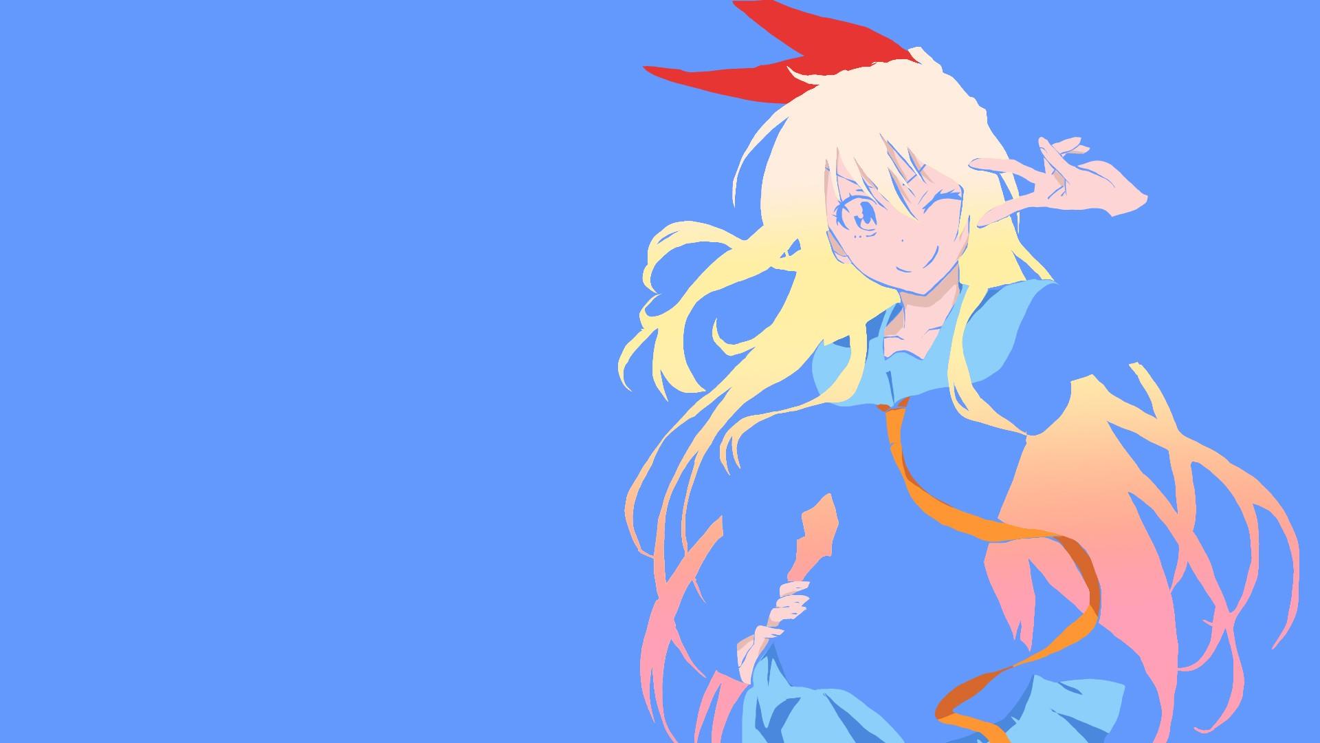 Illustration Anime Girls Cartoon Nisekoi Kirisaki Chitoge Fictional Character
