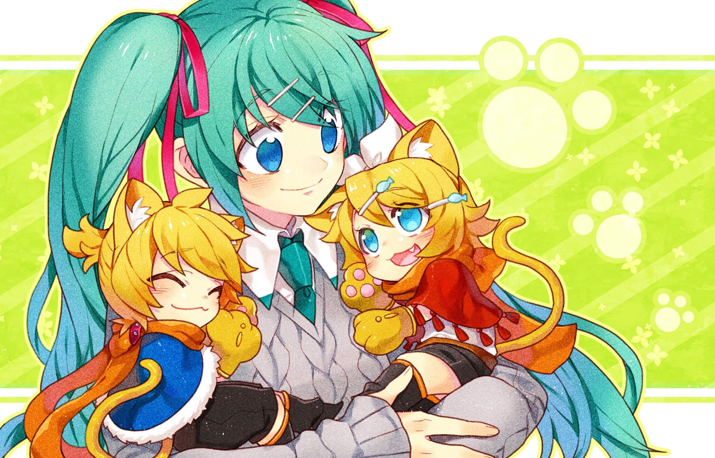 Wallpaper Illustration Anime Girls Cartoon Vocaloid