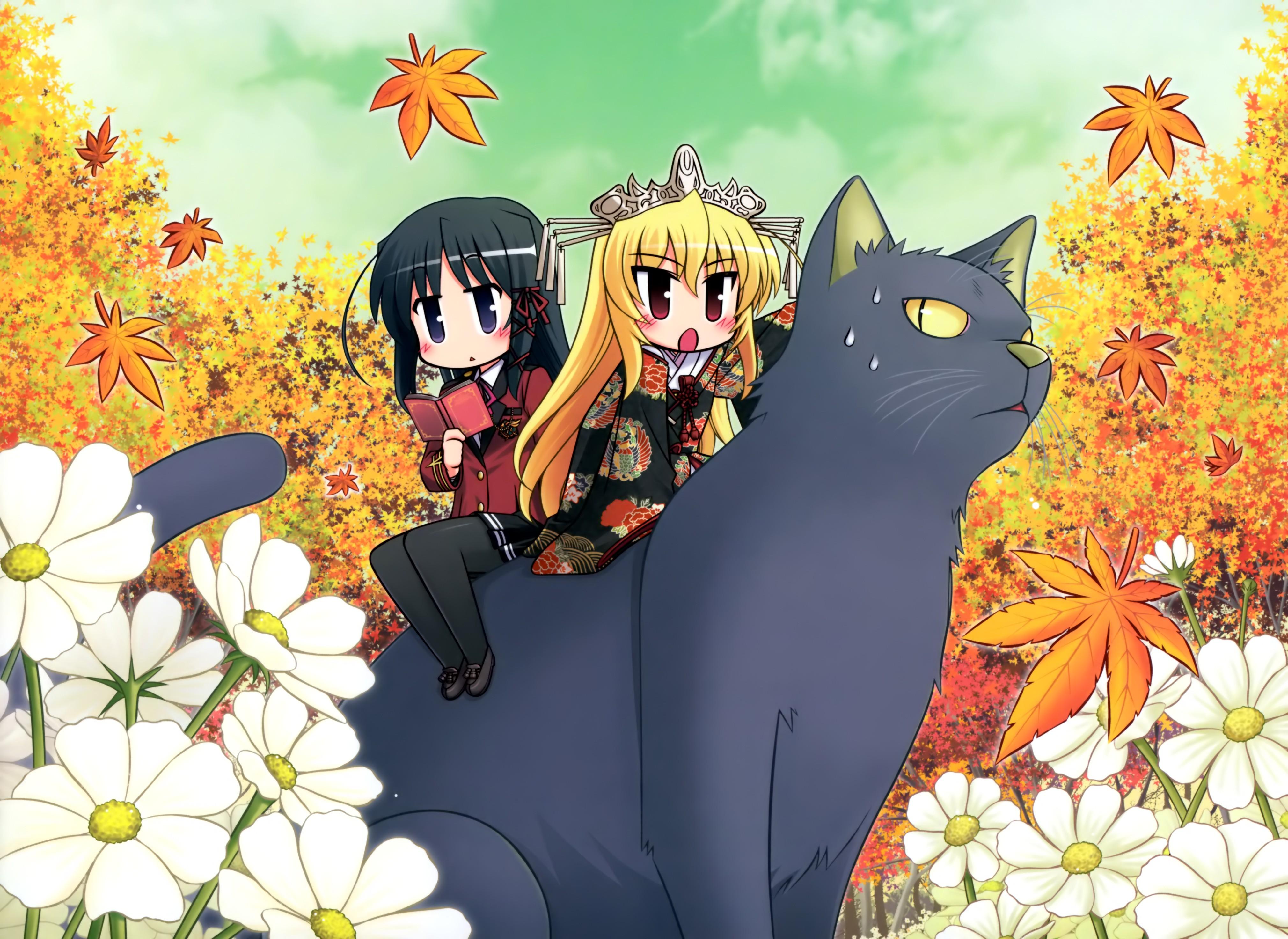Wallpaper Ilustrasi Gadis Anime Chibi Gambar Kartun