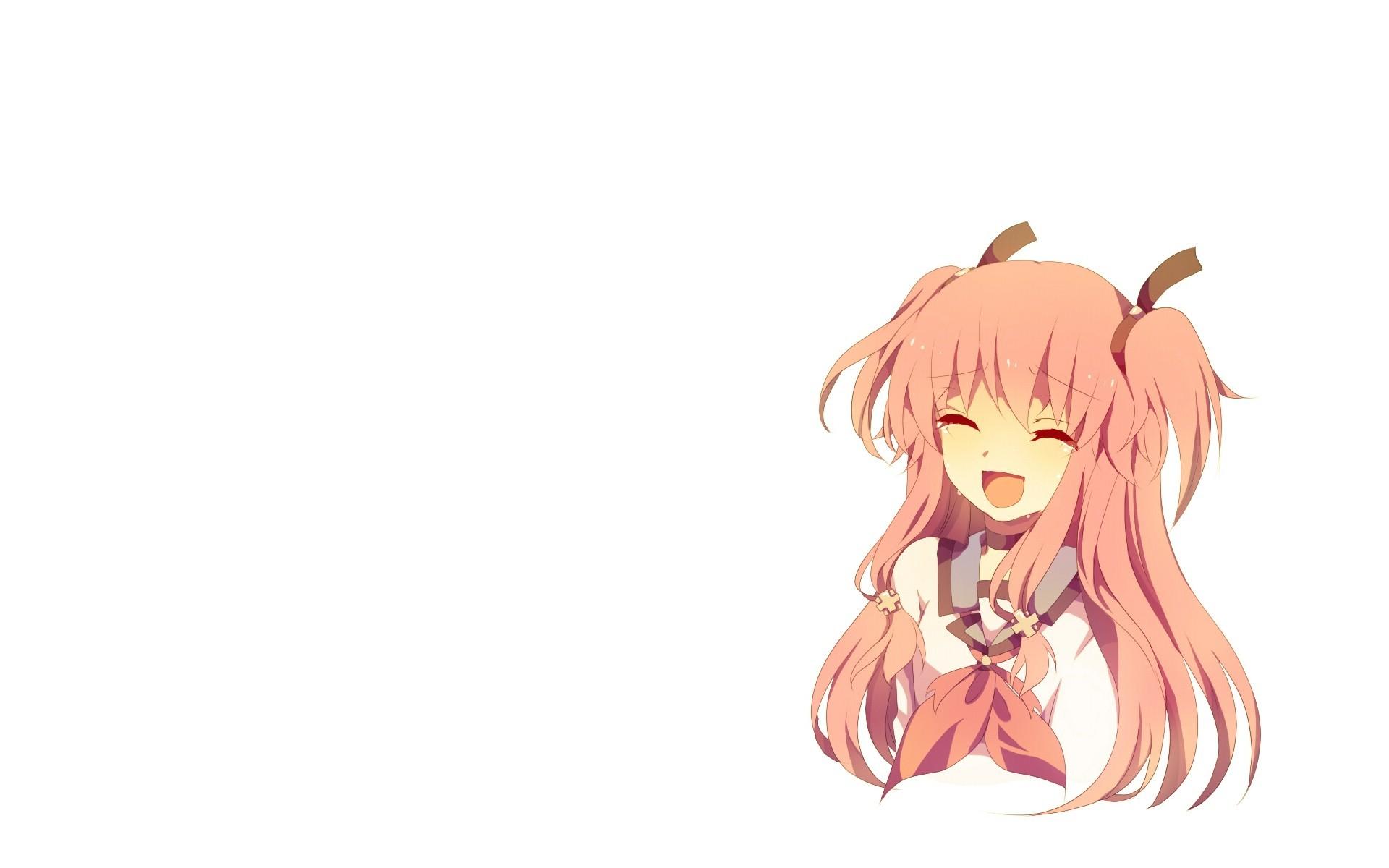 Wallpaper Ilustrasi Gadis Anime Gambar Kartun Ketukan Malaikat