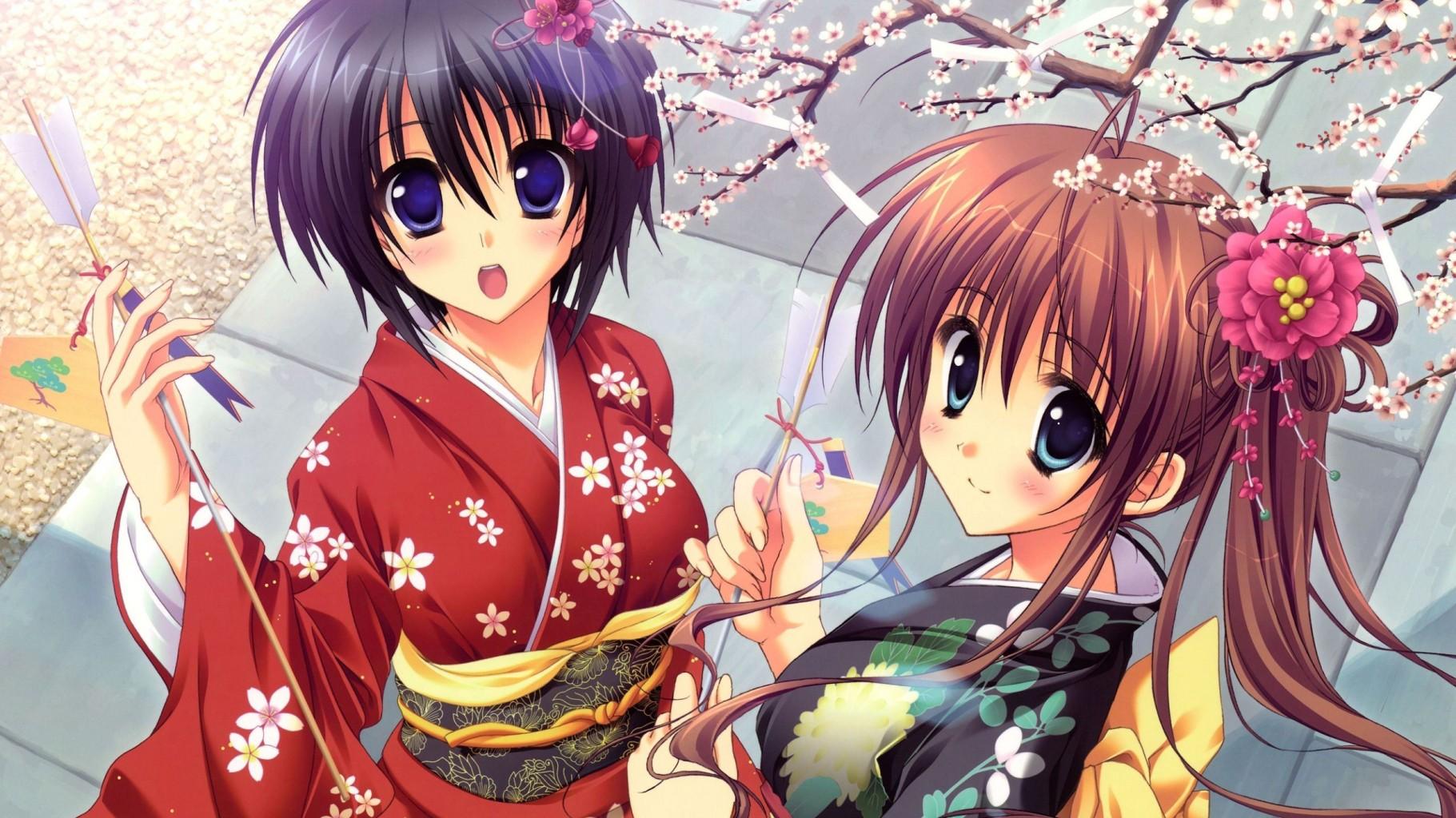 Картинки японские аниме