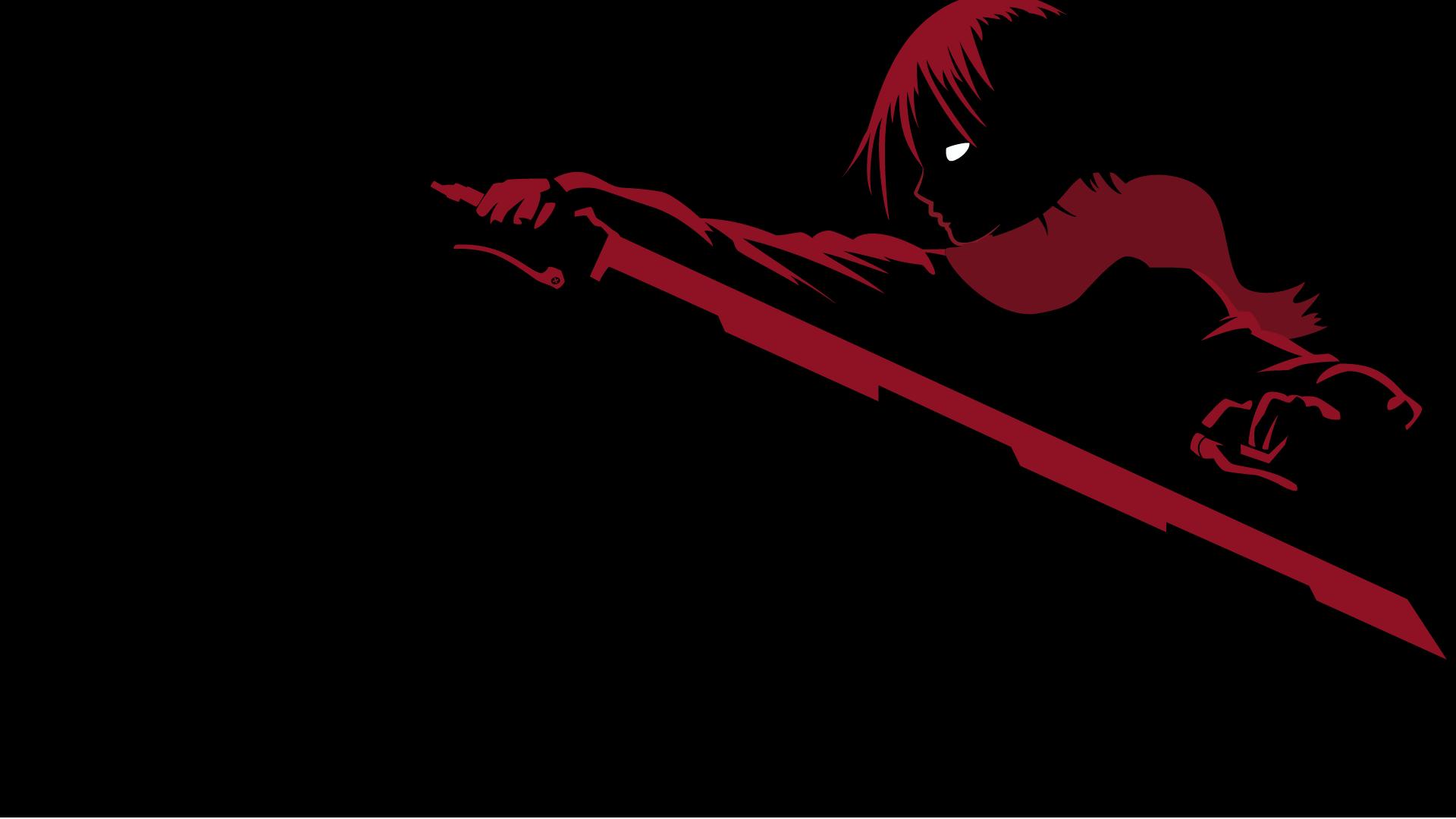 Wallpaper Illustration Anime Girls Minimalism Shingeki