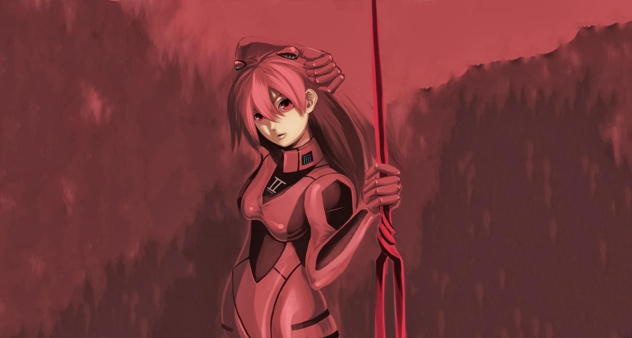デスクトップ壁紙 図 アニメの女の子 新世紀エヴァンゲリオン