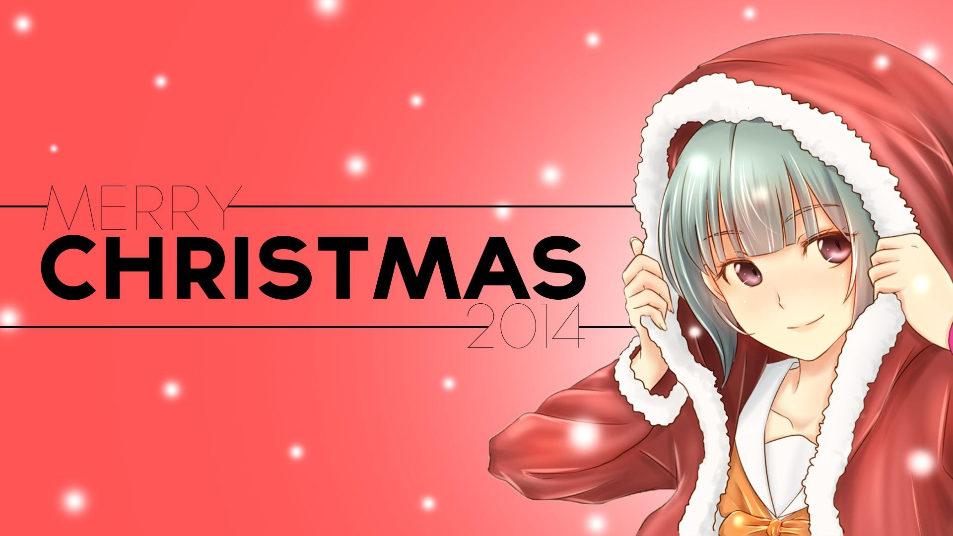 Anime Christmas Wallpaper.Wallpaper Illustration Anime Girls Red Cartoon Kantai