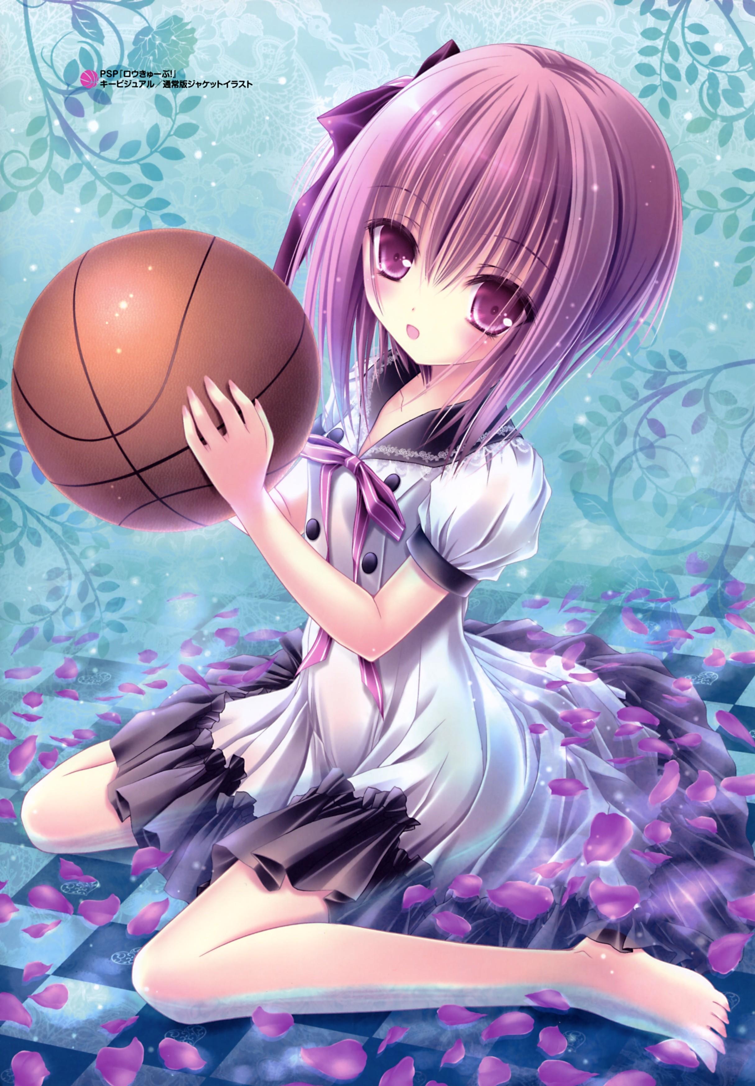 Wallpaper Illustration Anime Girls Short Hair Loli Feet