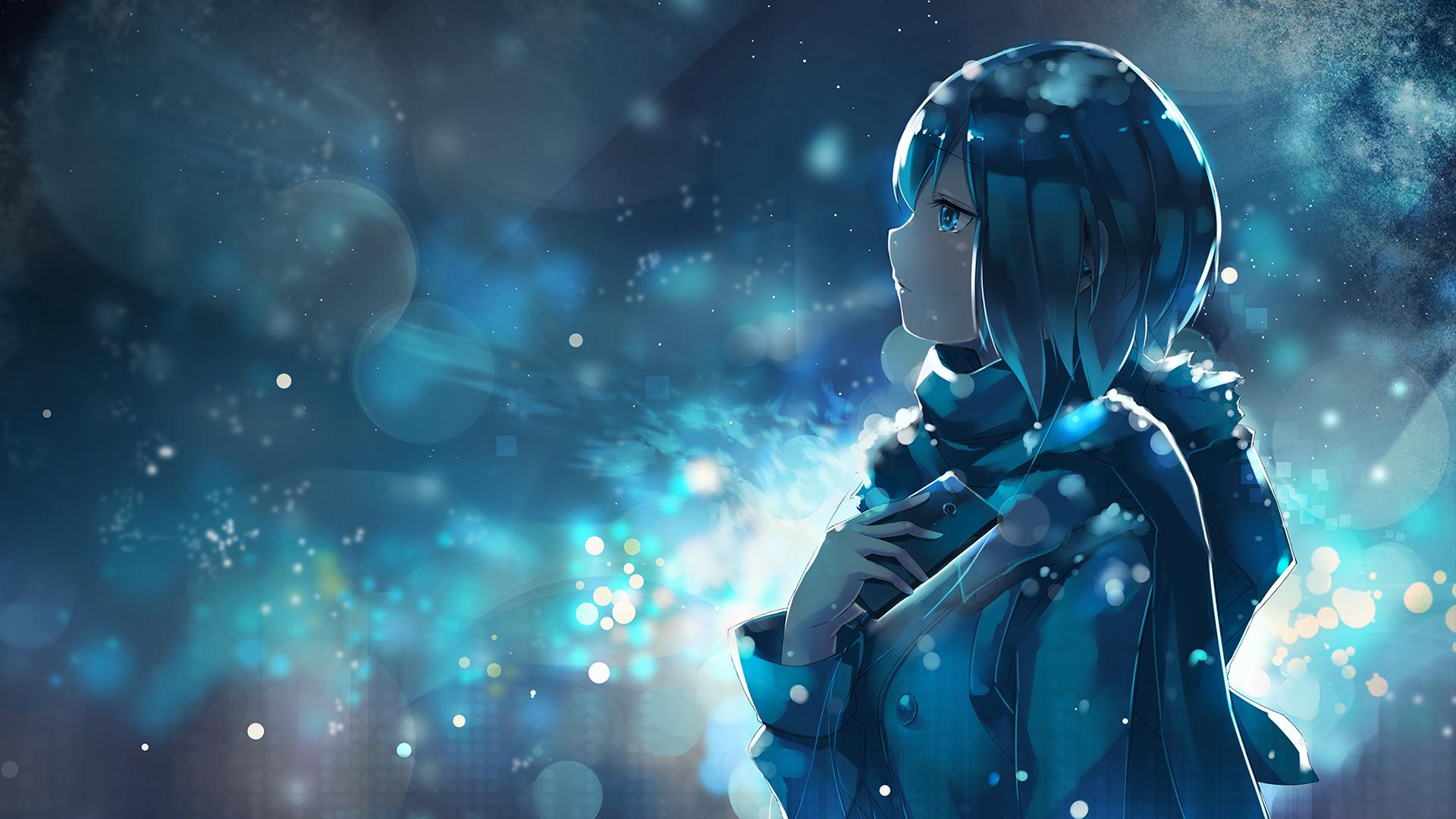 Sfondi Illustrazione Anime Girls Spazio Personaggi Originali