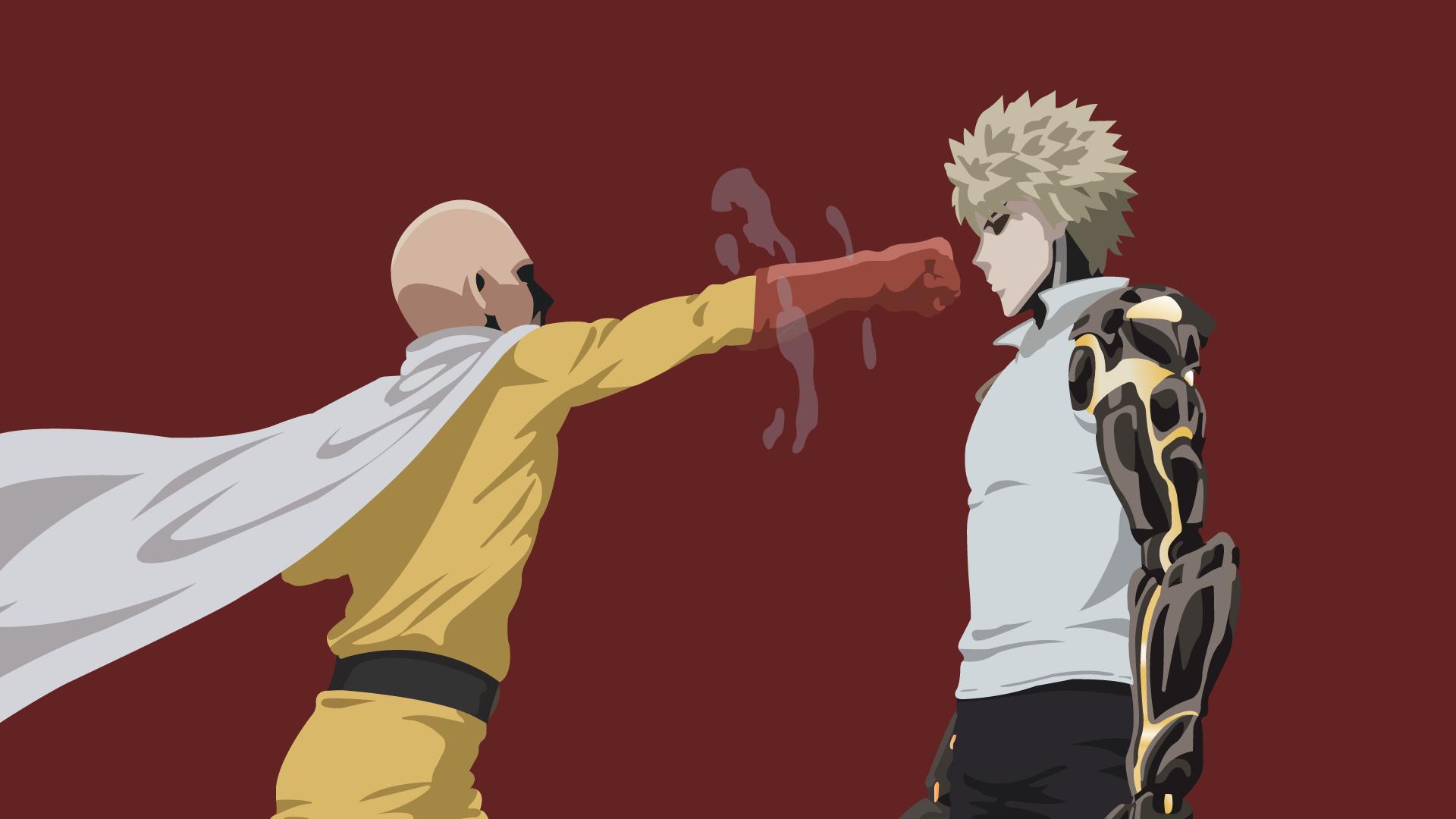 Good Wallpaper Android One Punch Man - illustration-anime-artwork-cartoon-Saitama-One-Punch-Man-Genos-screenshot-40637  Best Photo Reference_6389      .png