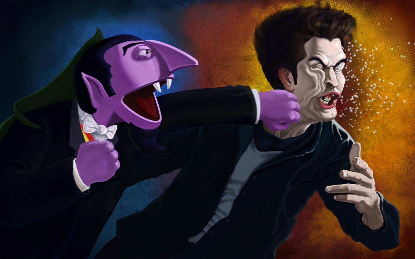 Cartone animato voglia di vampiri