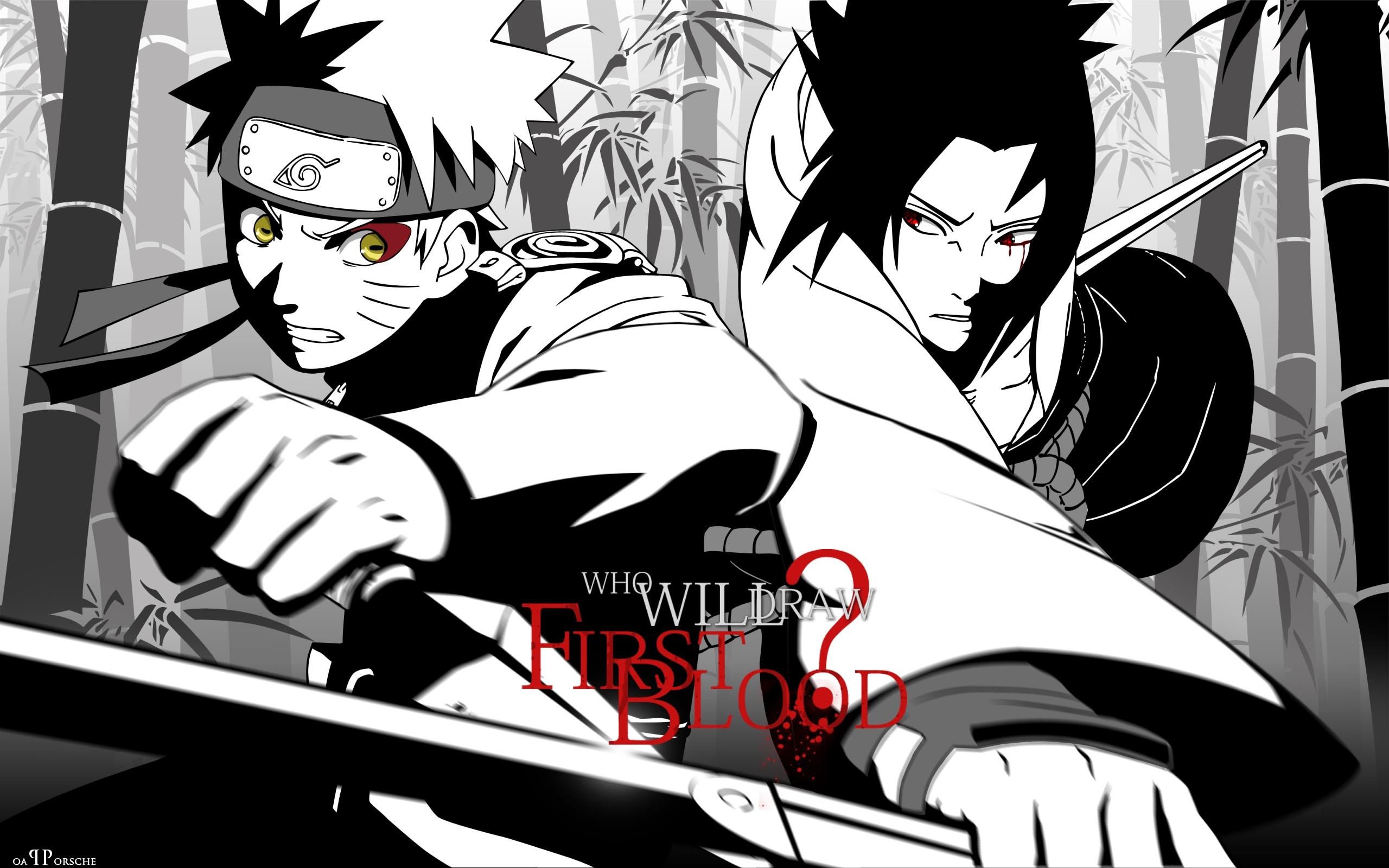 Wallpaper Illustration Anime Battle Cartoon Guys Posture