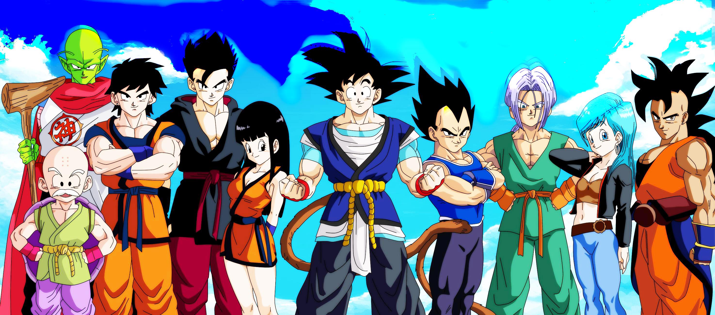 Papel De Parede Ilustração Anime Desenho Animado Esfera