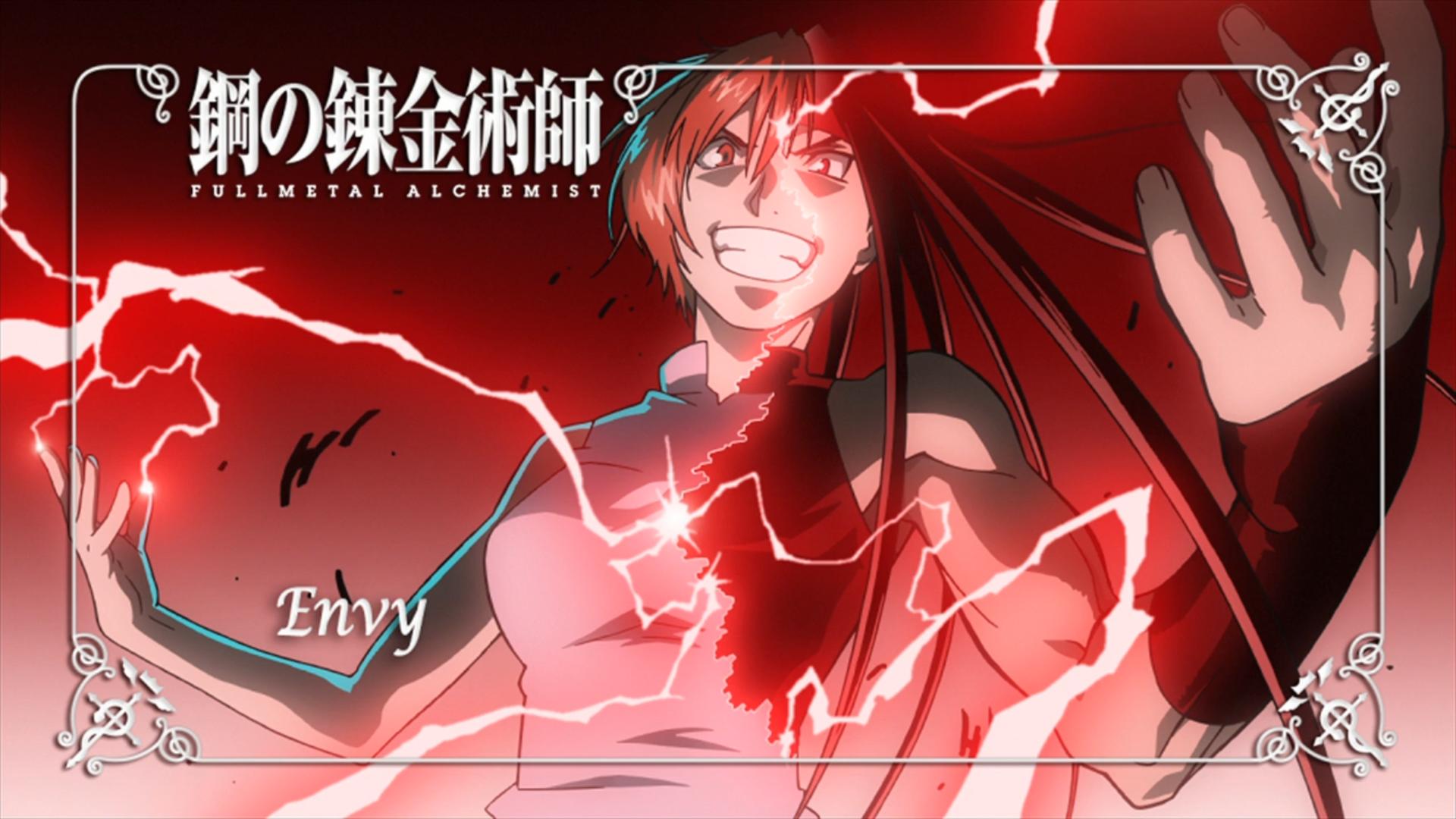 Illustration Anime Cartoon Fullmetal Alchemist Brotherhood Envy Font Organ Mangaka Comic Book