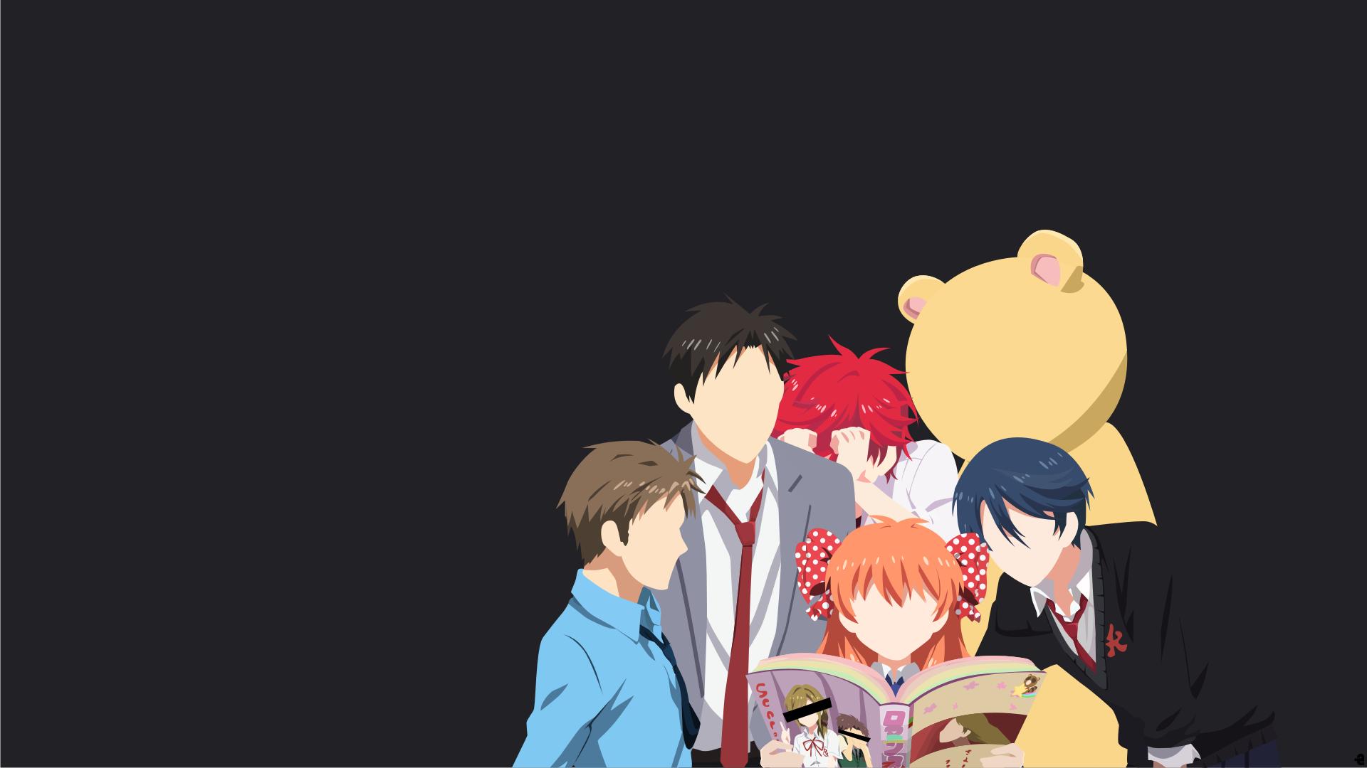 Wallpaper Illustration Anime Cartoon Gekkan Shoujo Nozaki Kun