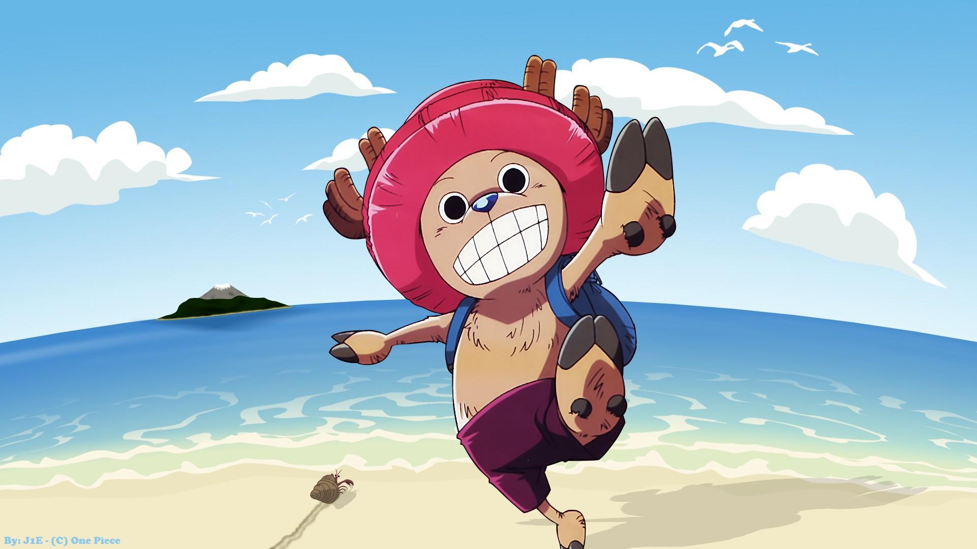 Wallpaper Illustration Anime Cartoon One Piece Tony