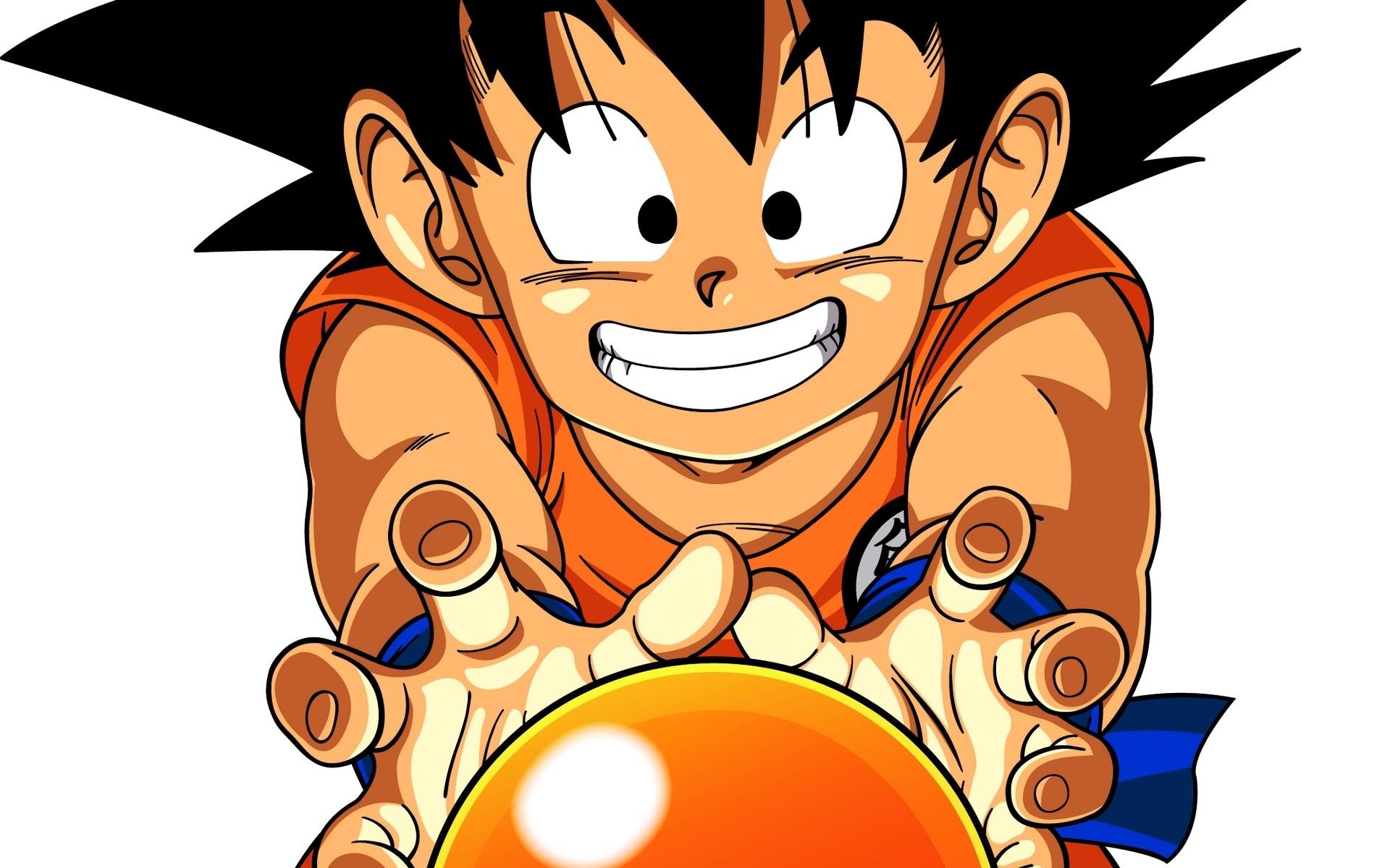 Papel De Parede Ilustracao Anime Desenho Animado Filho Goku