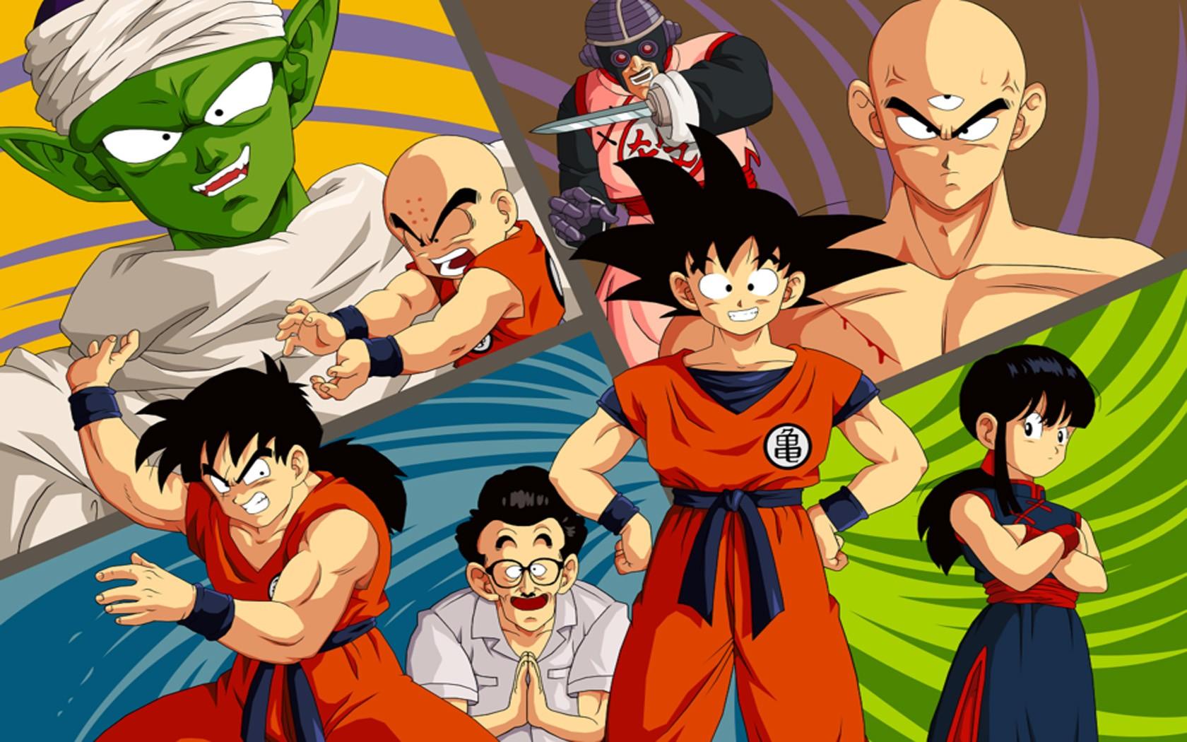 Son Goku Dragon Ball Z Piccolo Krillin Yamcha Chi