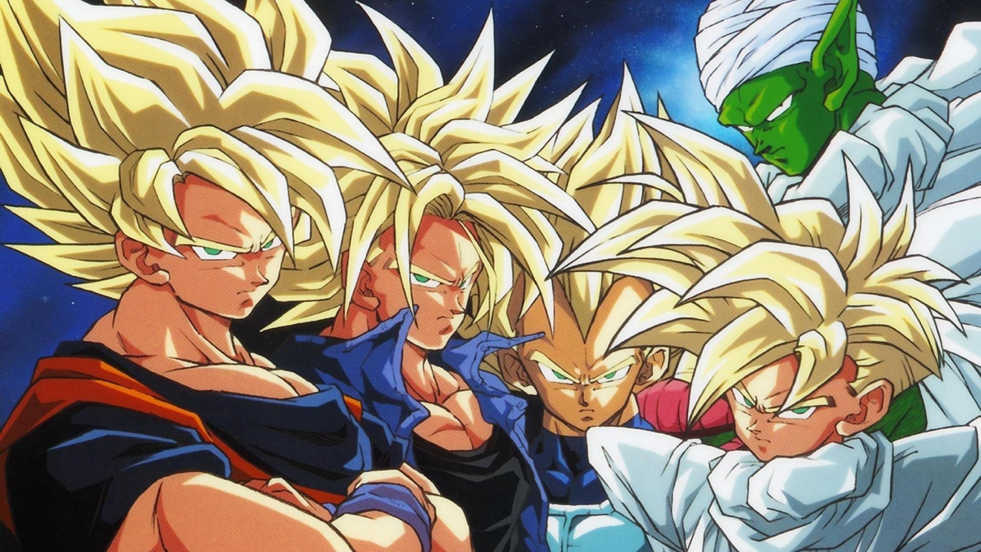 Wallpaper illustration anime cartoon son goku dragon - Dragon ball z super sayen ...