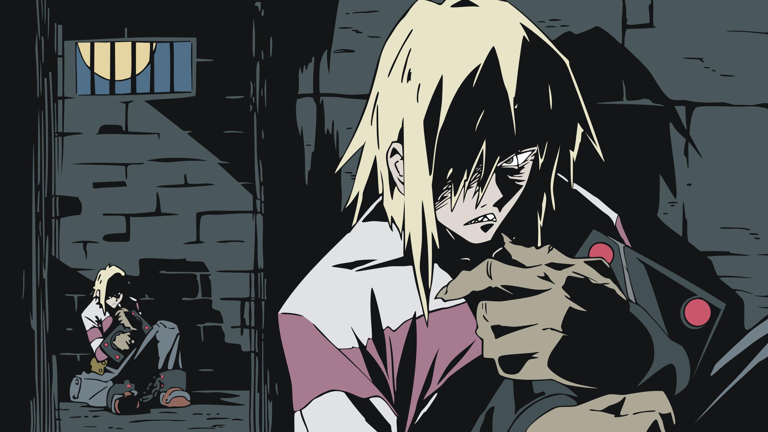 Wallpaper Ilustrasi Anime Gambar Kartun Tengen Toppa Gurren