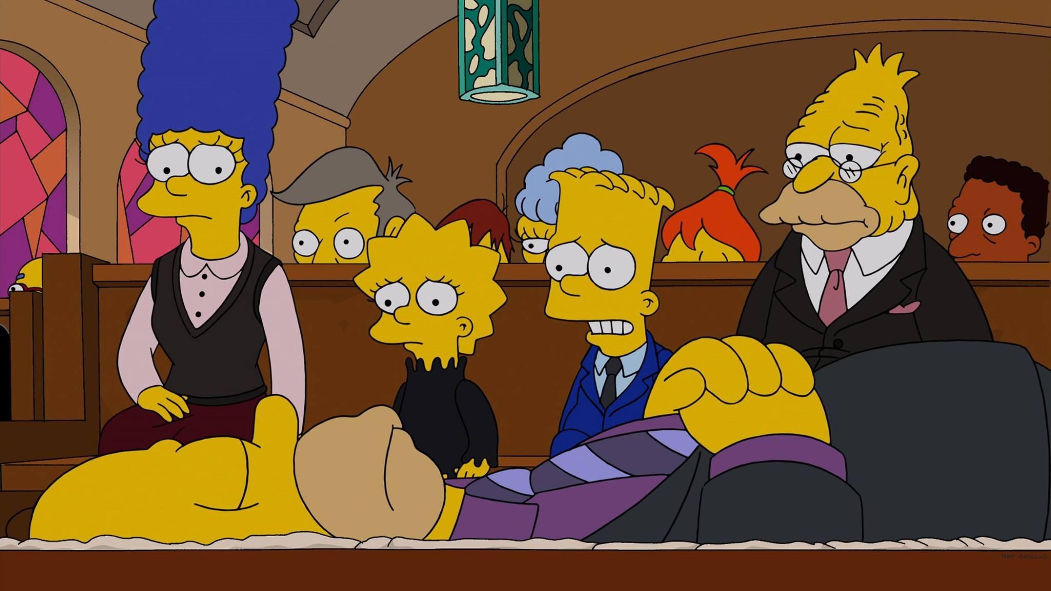The simpson cinque personaggi che hanno lasciato il cartone