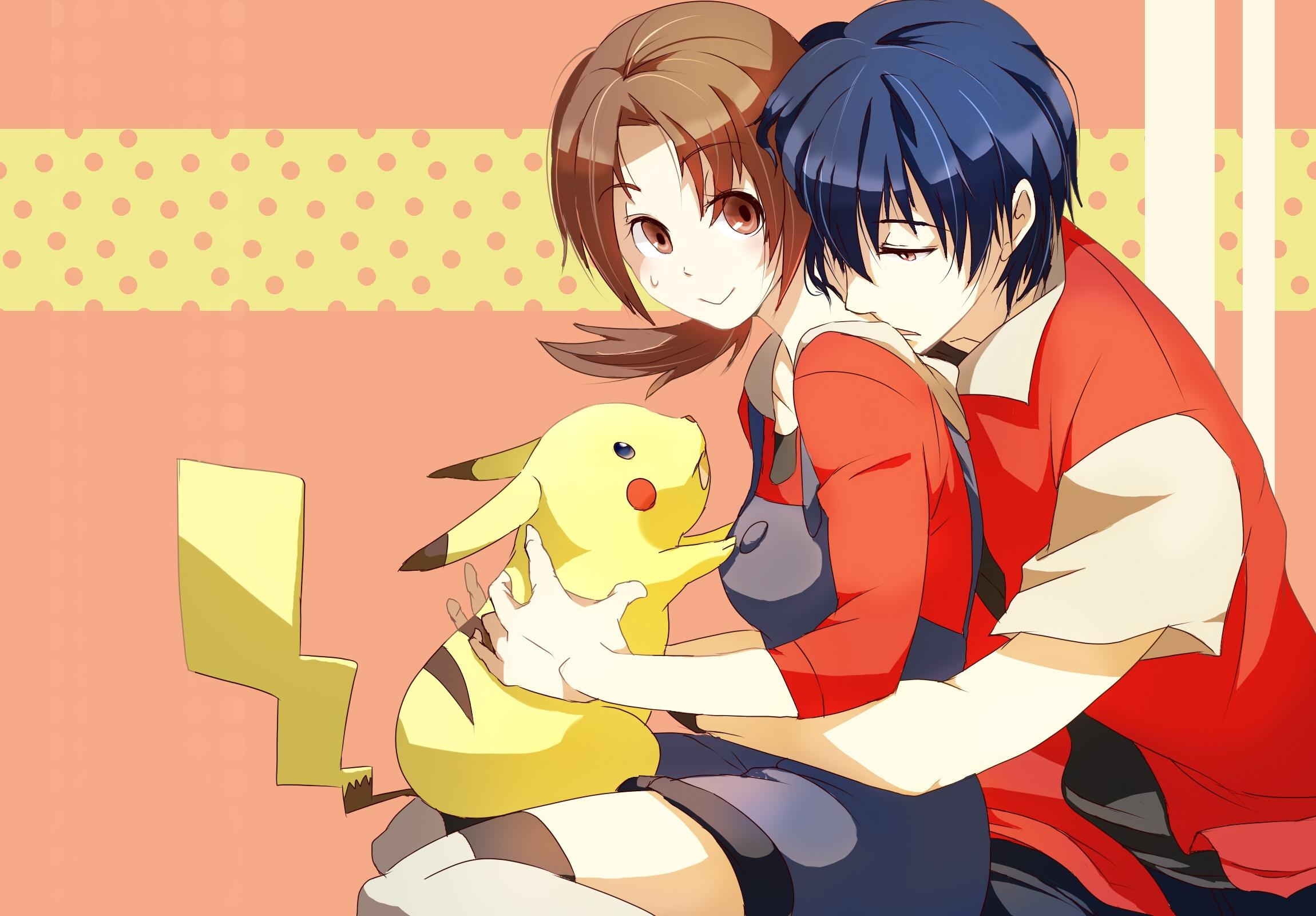 anime manga boy and girl: วอลเปเปอร์ : ภาพประกอบ, อะนิเมะ, การ์ตูน, สัตว์, เด็กชาย